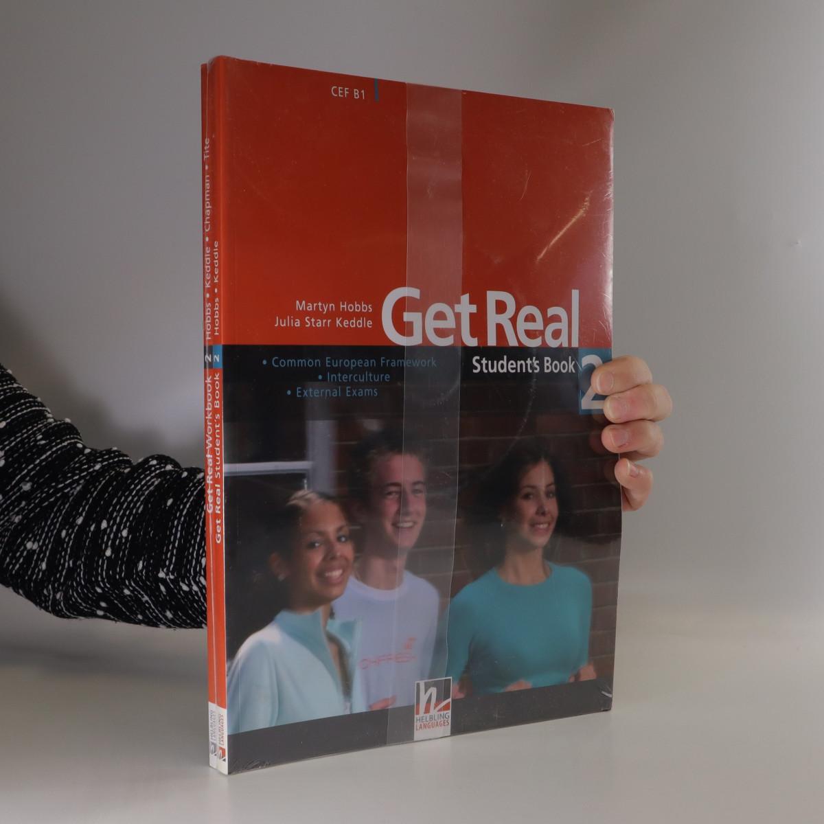 antikvární kniha Get Real 2 : Student's book. Workbook (2 svazky) (zabaleno), neuveden