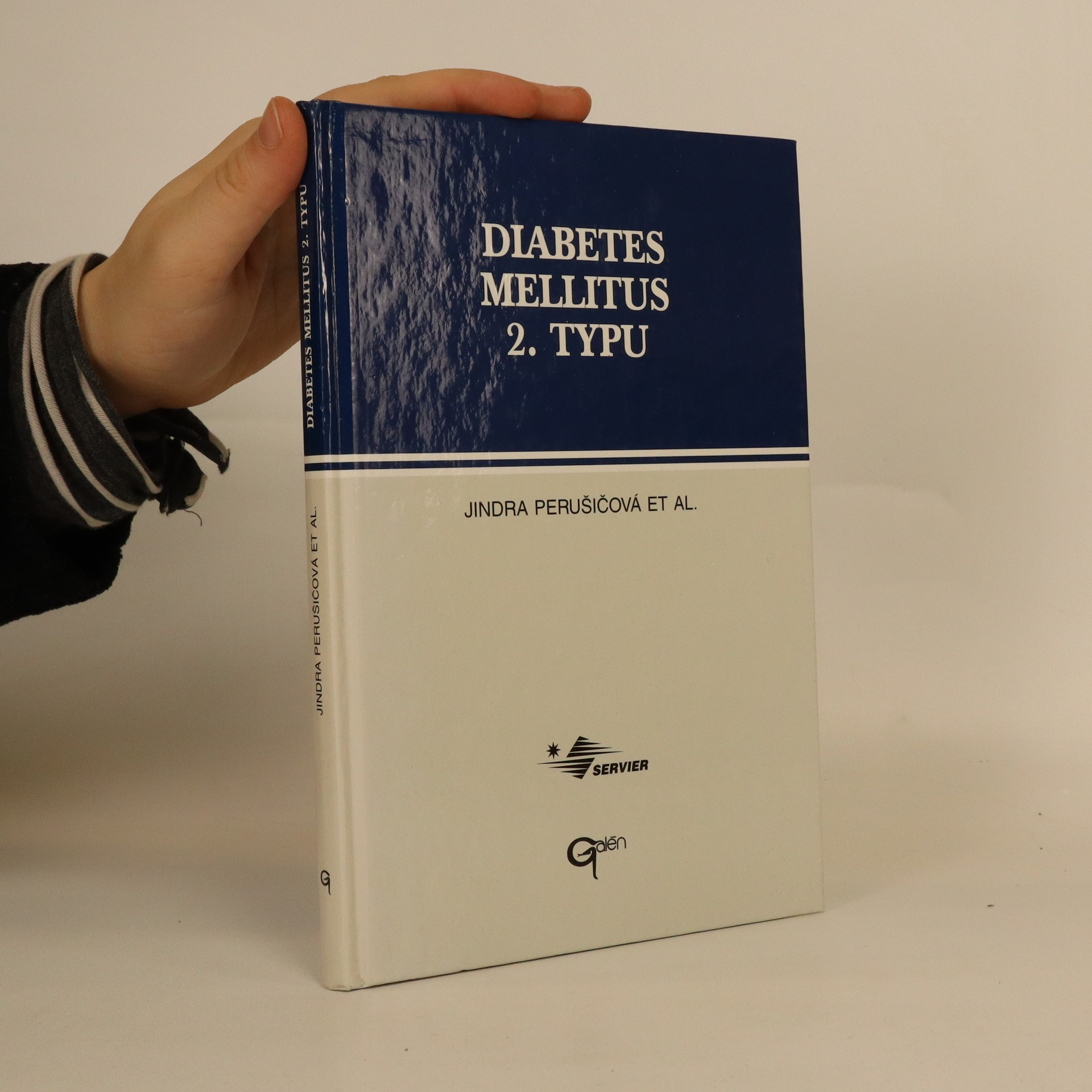 antikvární kniha Diabetes mellitus 2. typu : praktická rukověť, 1996