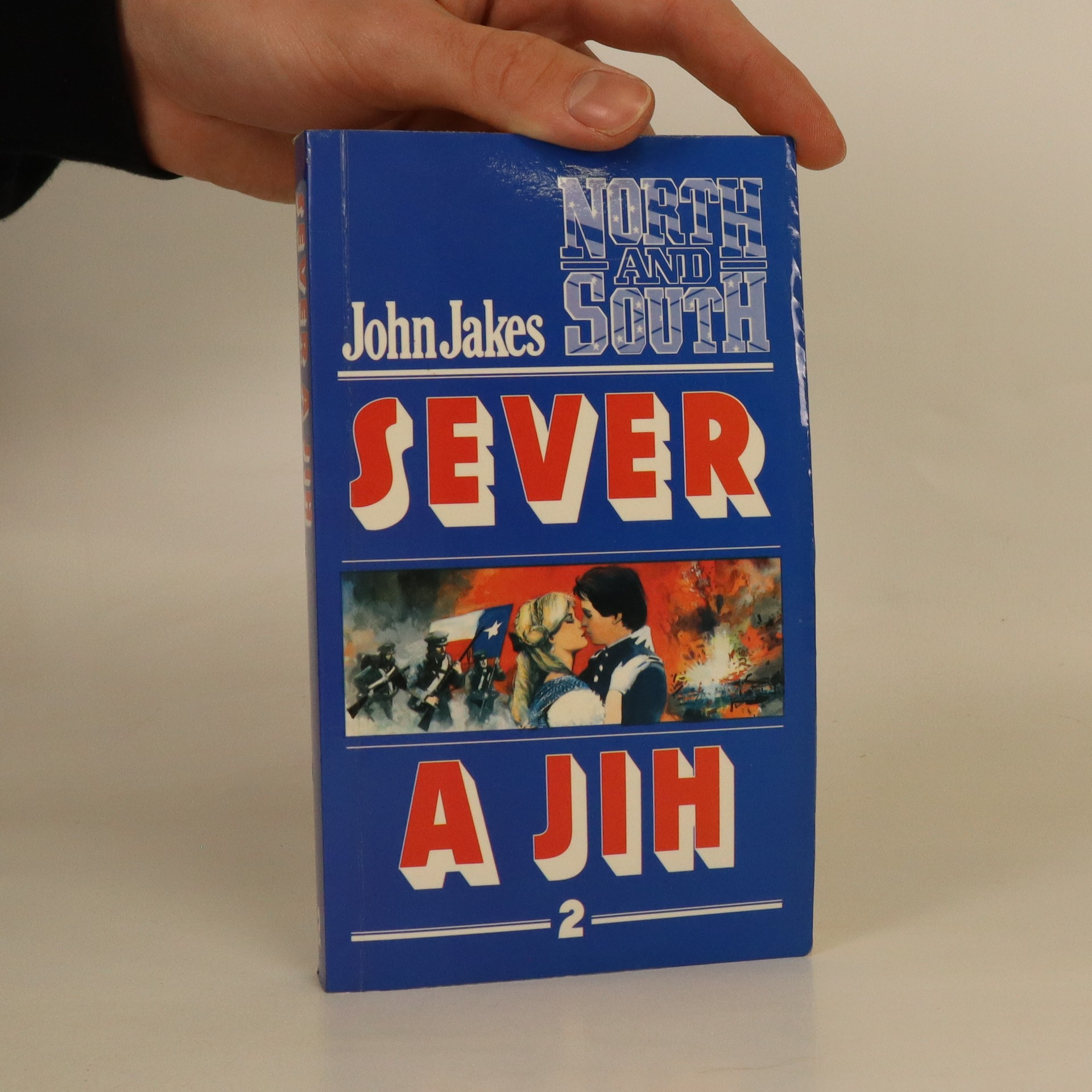 antikvární kniha Sever a Jih. 2. díl, 1992