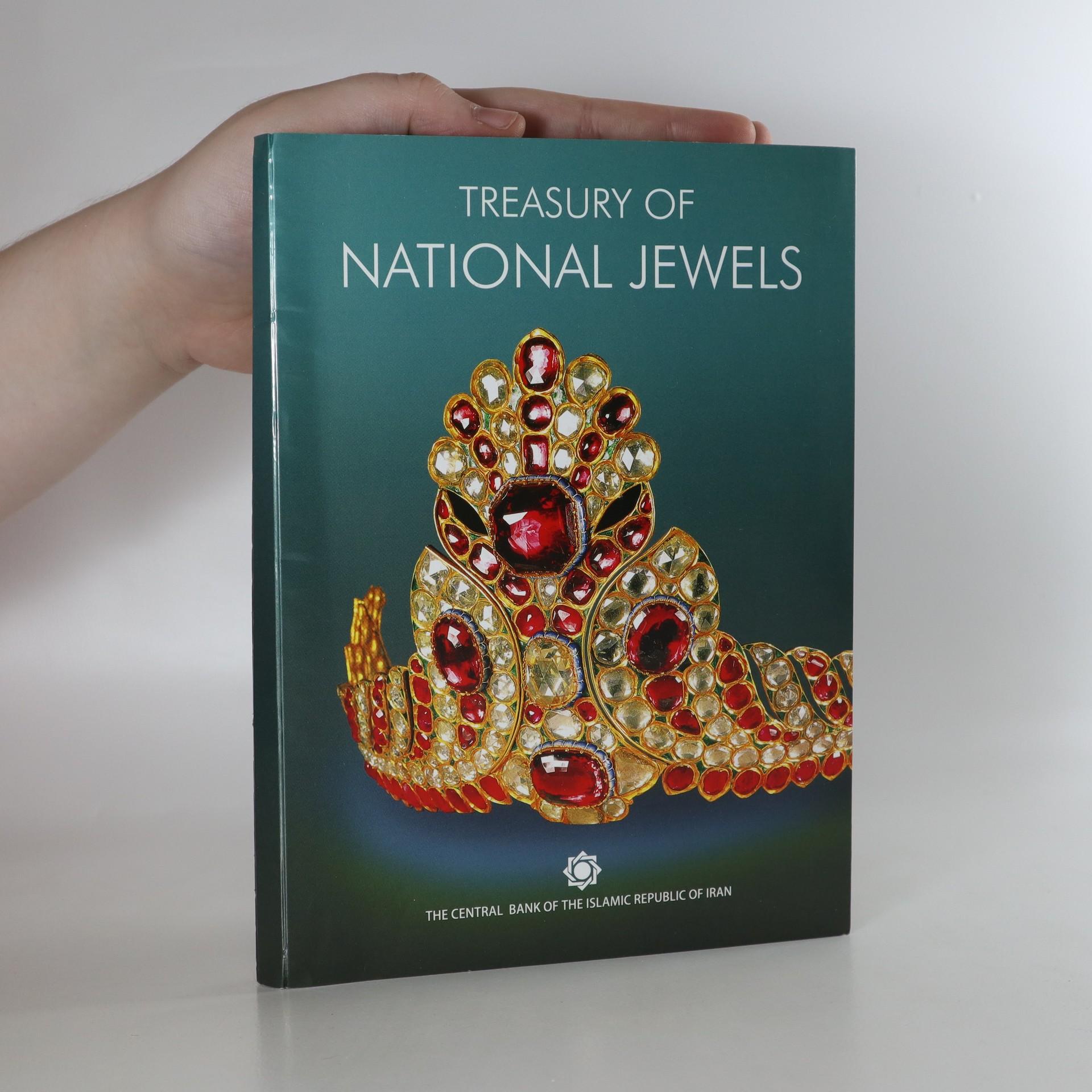 antikvární kniha Treasury of the national jewels, neuveden