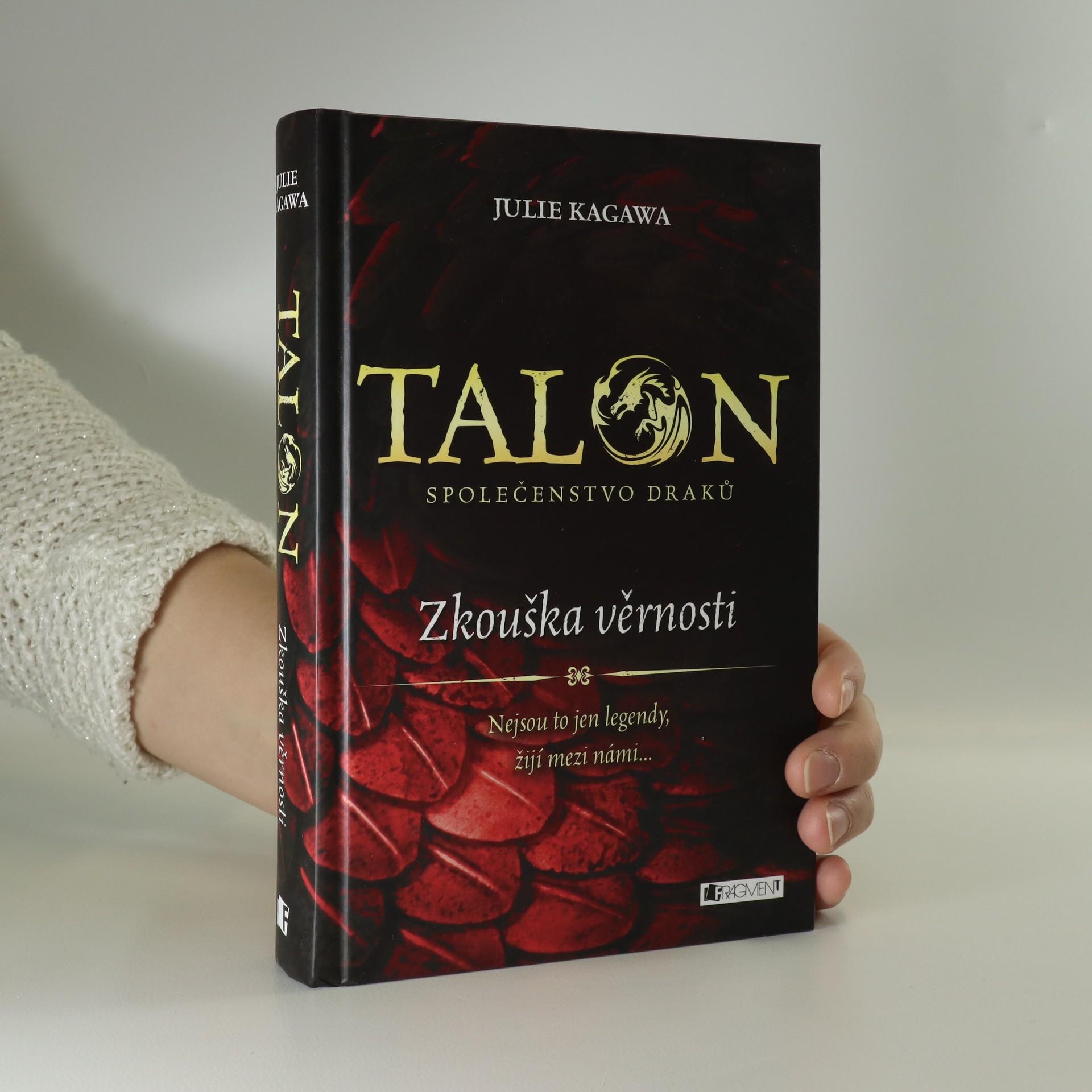 antikvární kniha Talon : společenstvo draků. Zkouška věrnosti, 2015