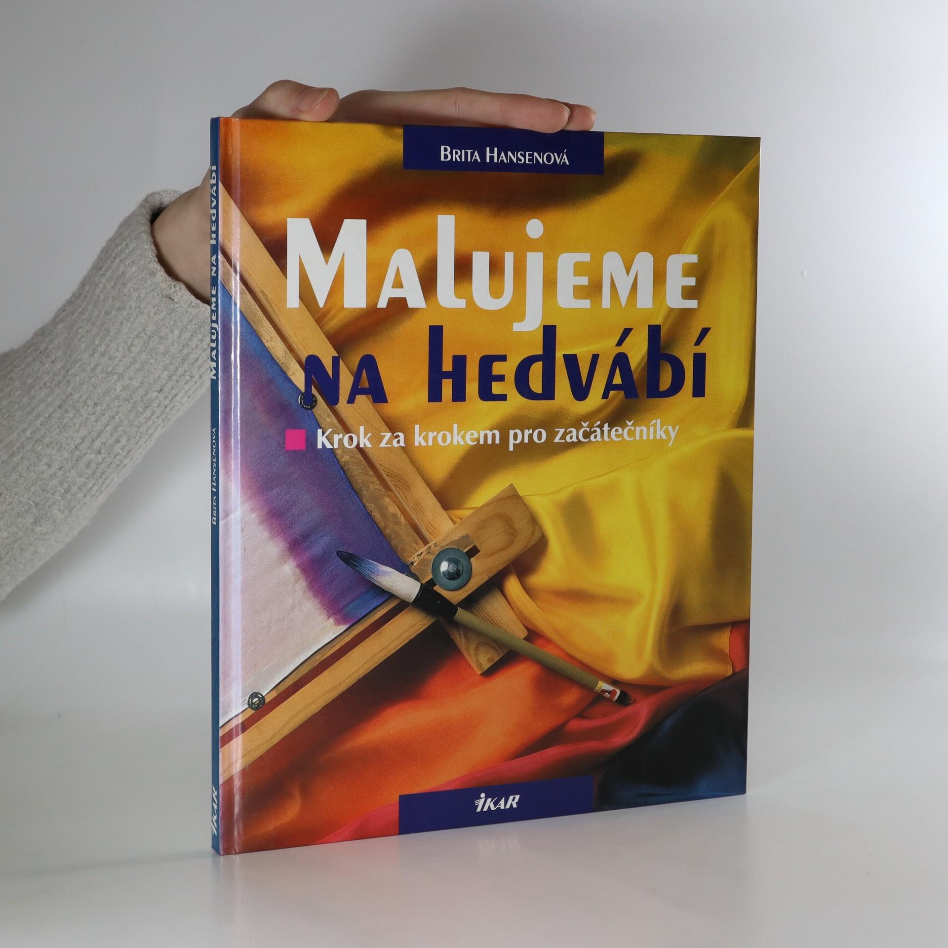 antikvární kniha Malujeme na hedvábí, 1997
