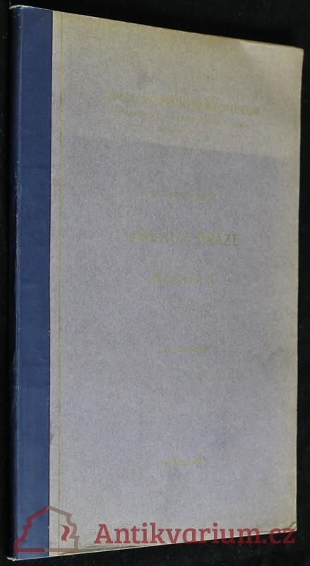 antikvární kniha Umění v Praze za Rudolfa II, 1904