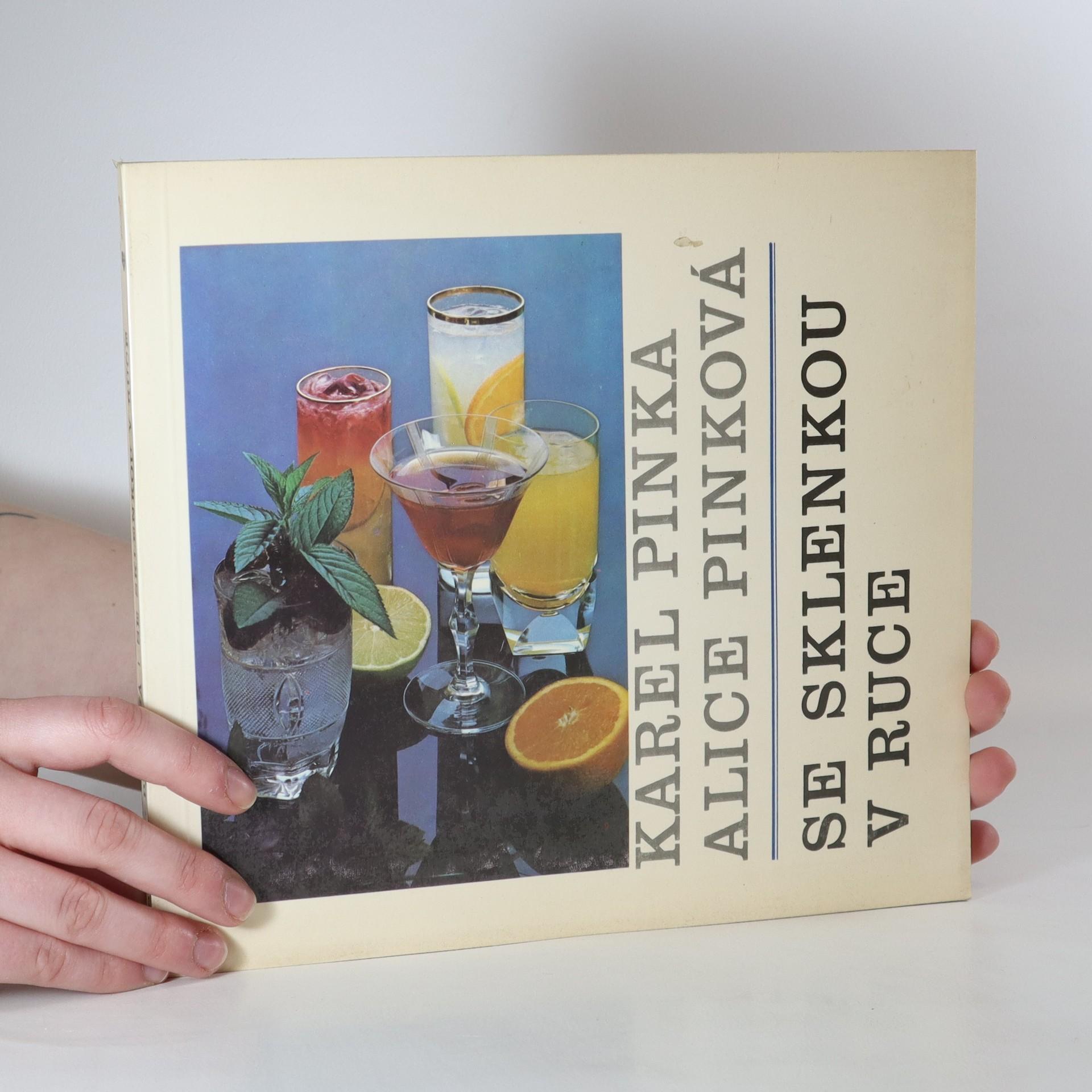 antikvární kniha Se sklenkou v ruce, 1986
