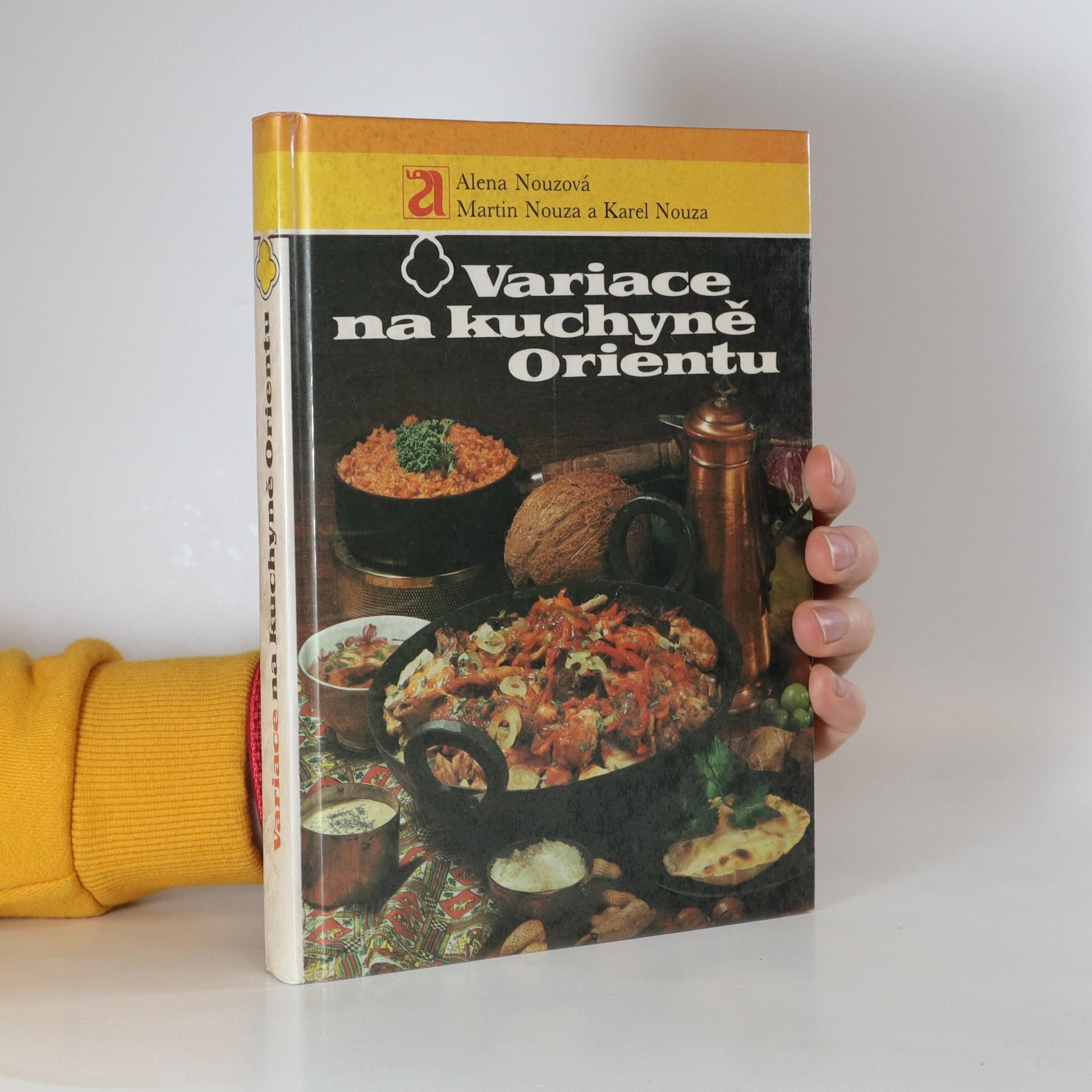 antikvární kniha Variace na kuchyně Orientu, 1989