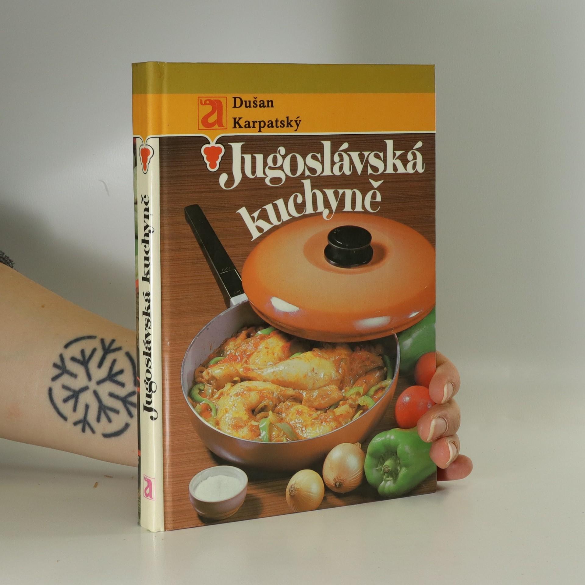antikvární kniha Jugoslávská kuchyně, 1988