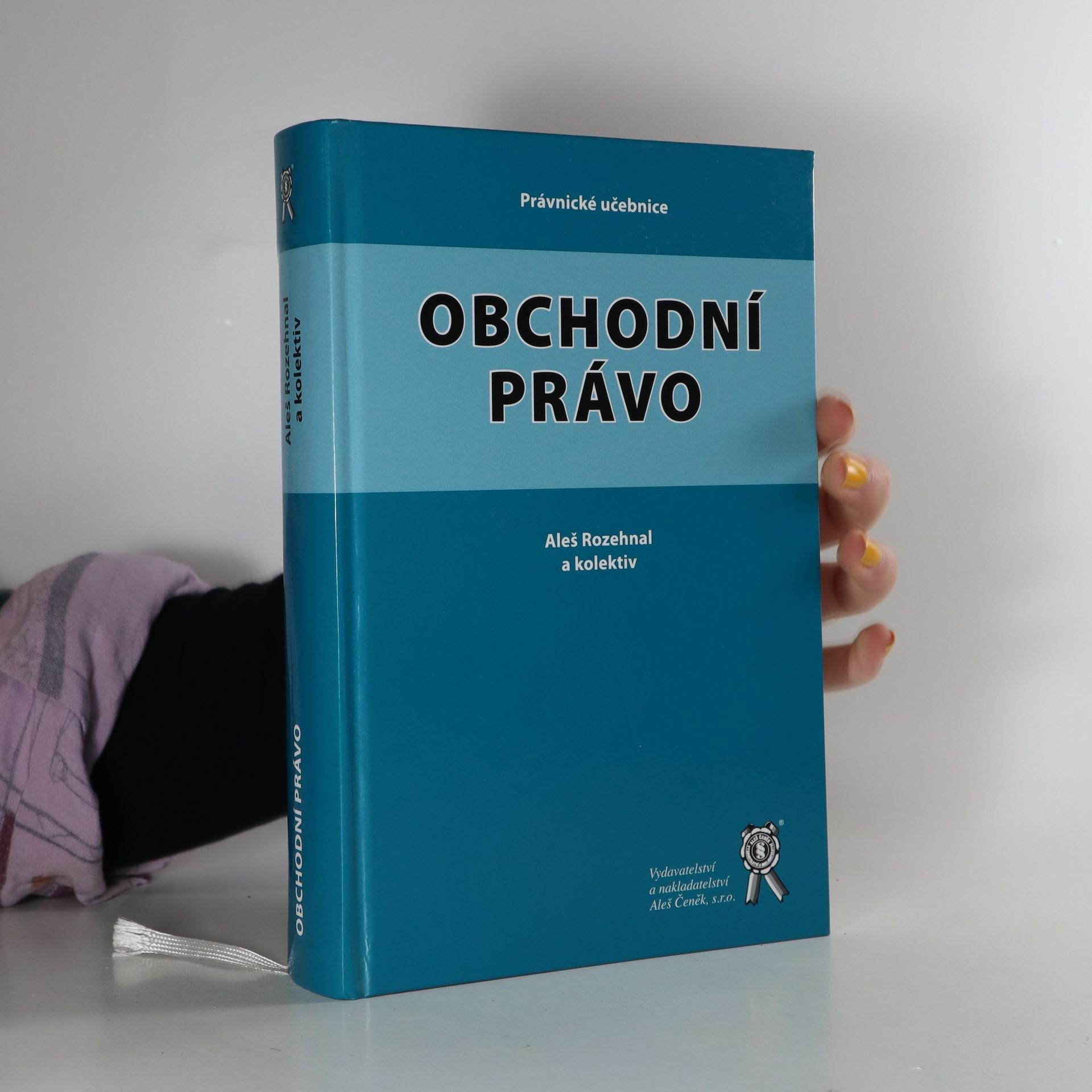 antikvární kniha Obchodní právo, neuveden