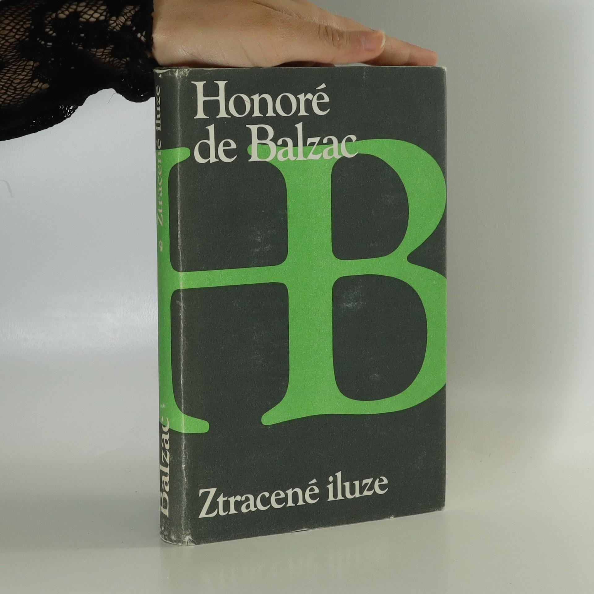 antikvární kniha Ztracené iluze, 1986