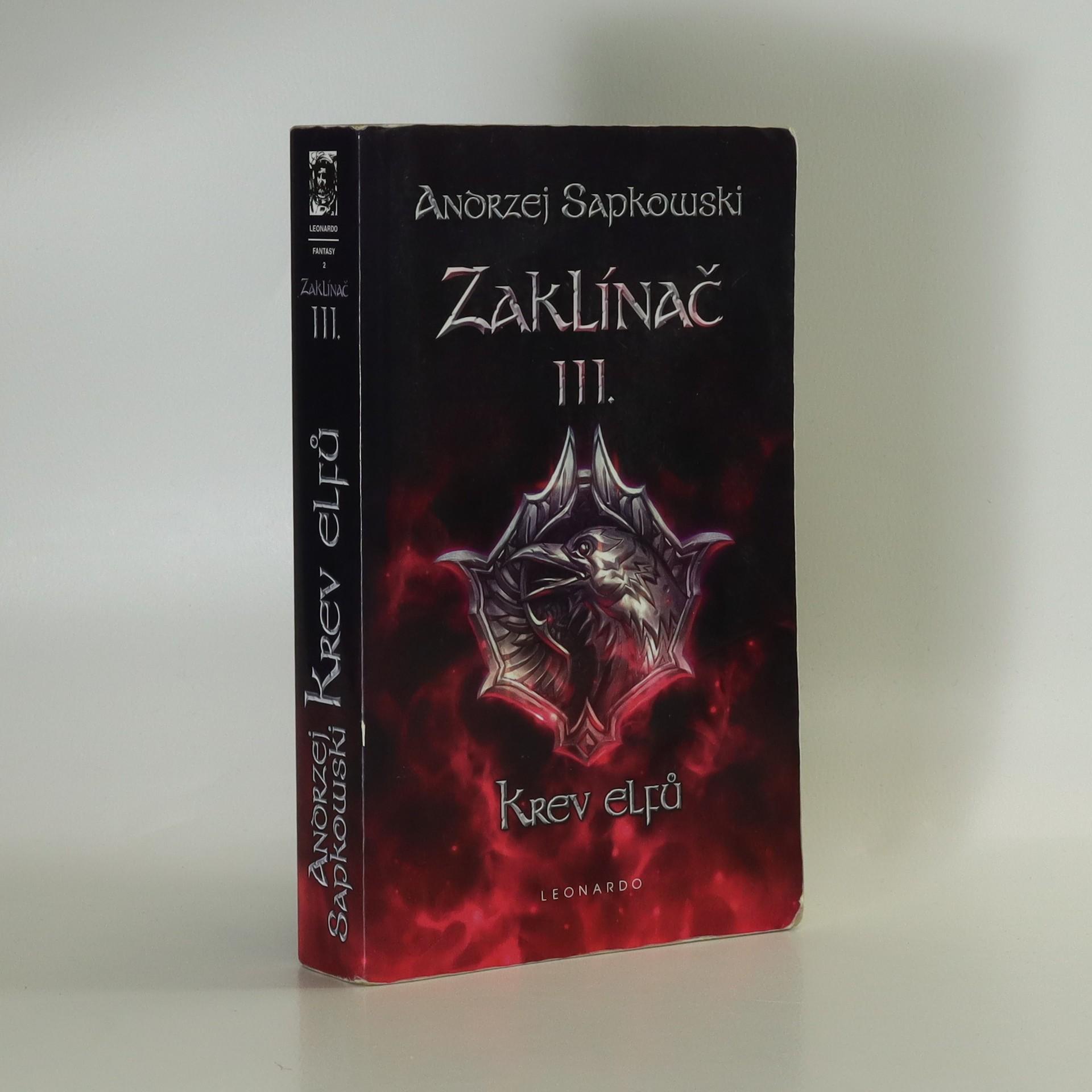 antikvární kniha Zaklínač. III., Krev elfů, 2011