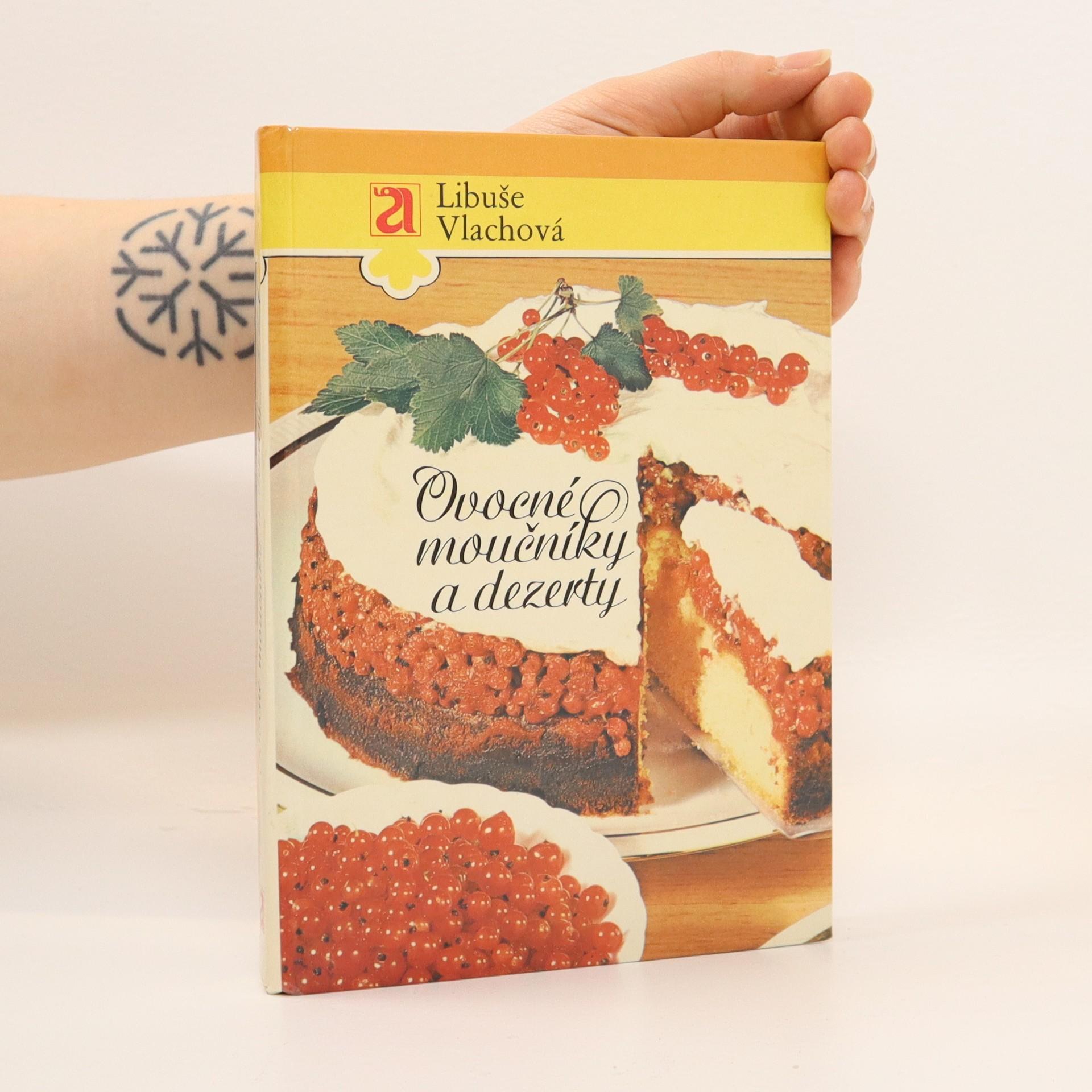 antikvární kniha Ovocné moučníky a dezerty, 1987