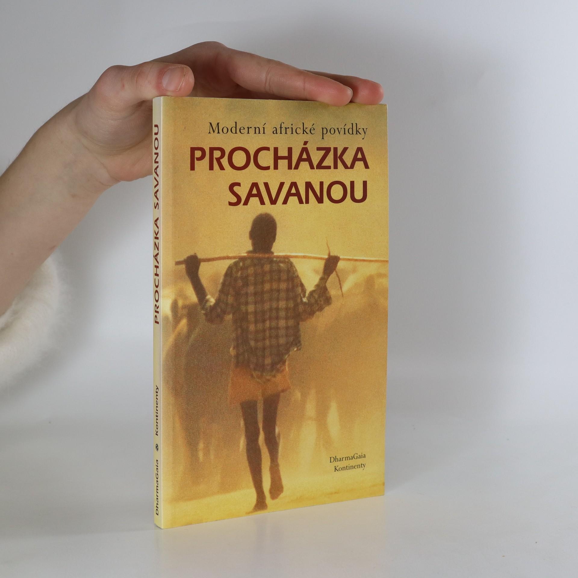 antikvární kniha Procházka savanou : moderní africké povídky, 2003
