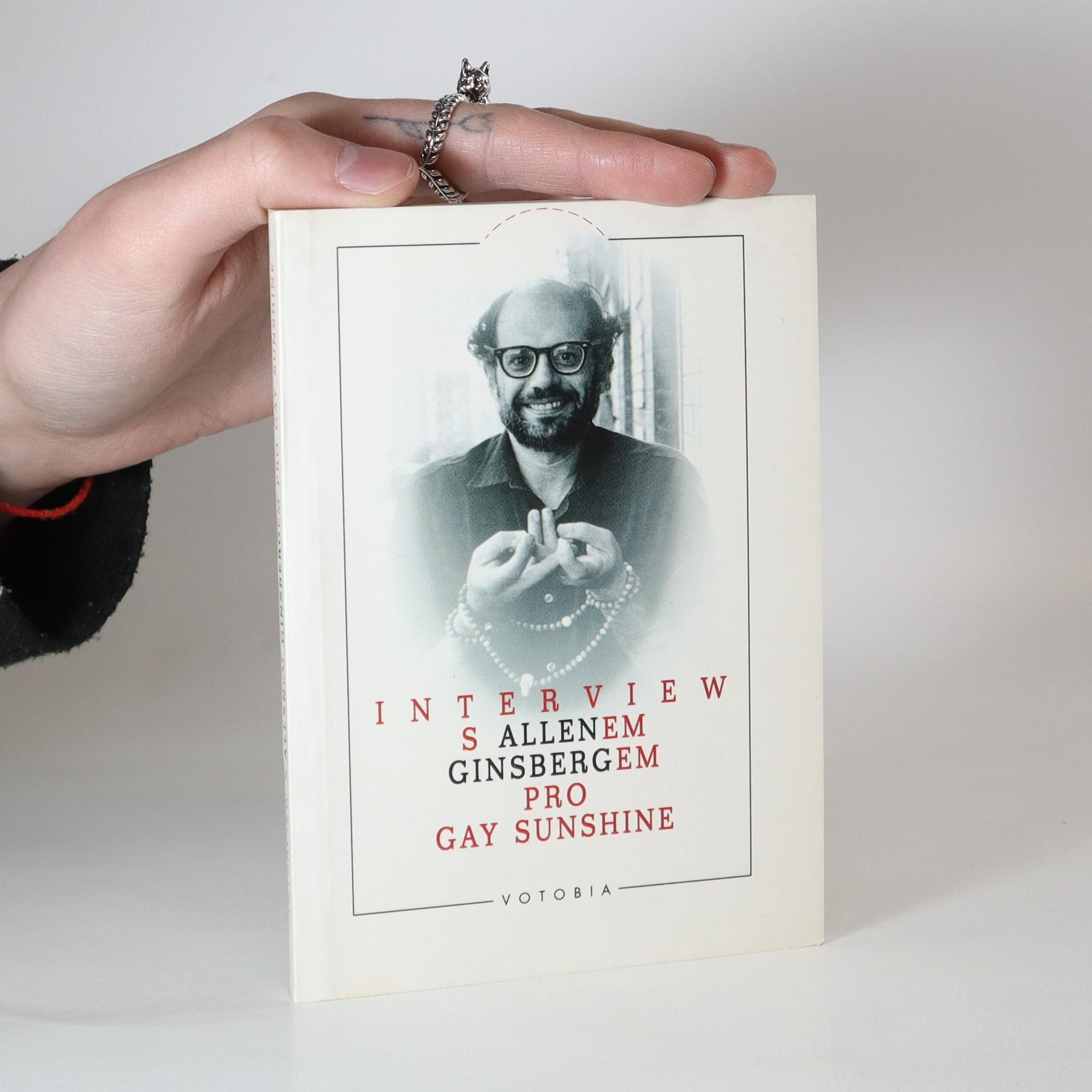 antikvární kniha Interview s Allenem Ginsbergem pro Gay Sunshine, 1996
