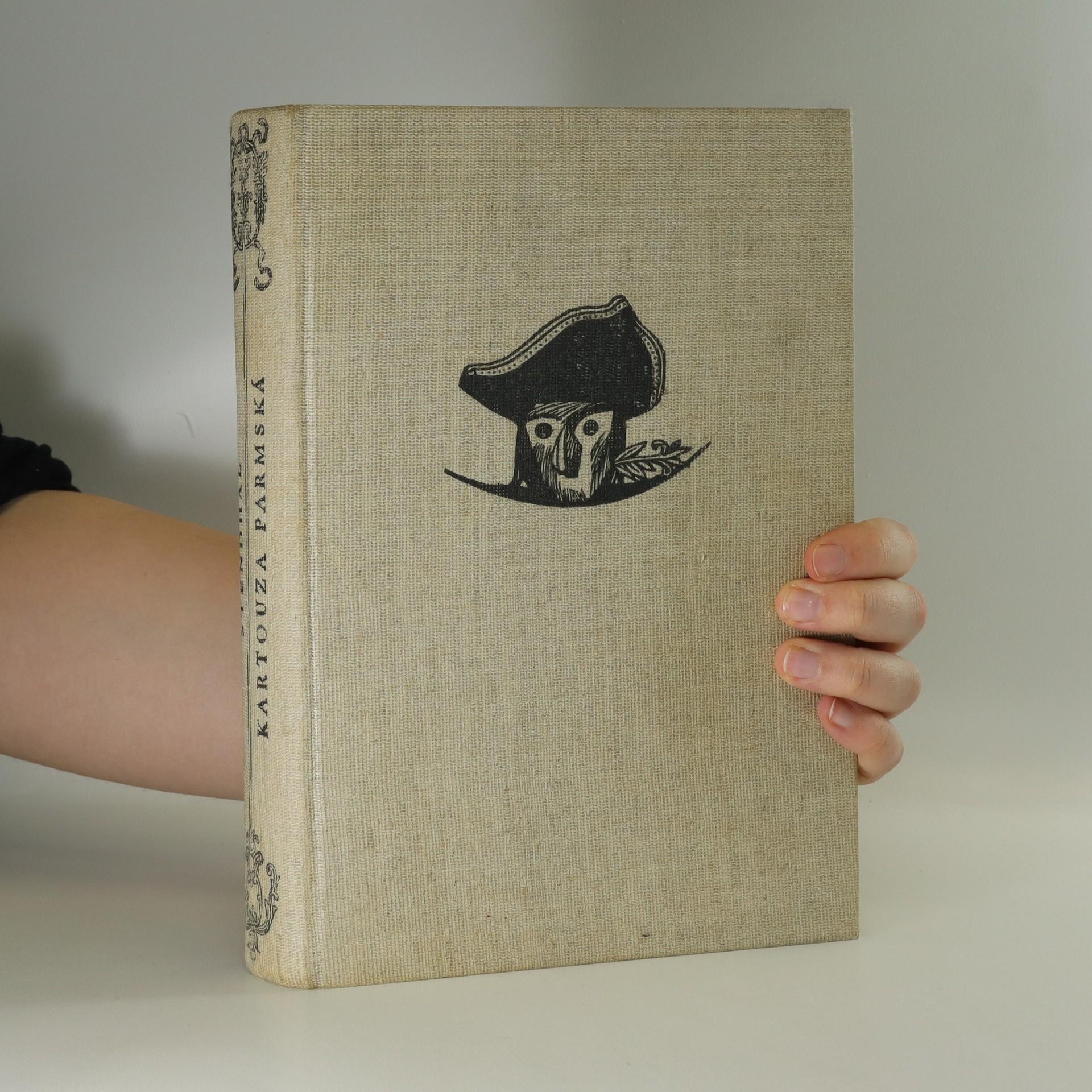 antikvární kniha Kartouza Parmská, 1957