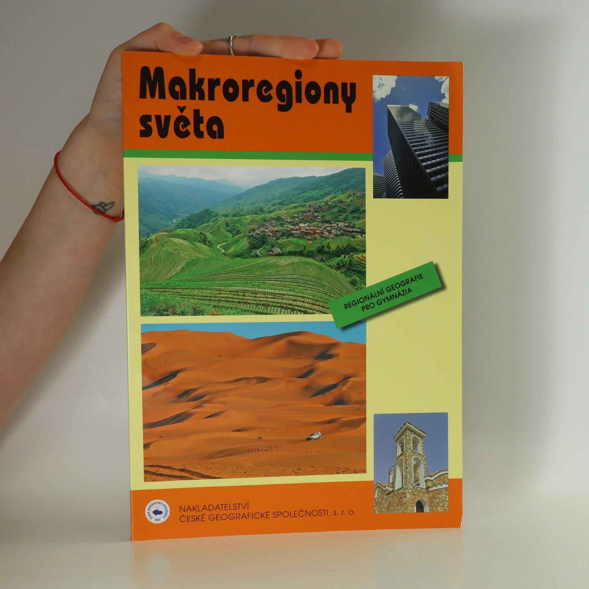 antikvární kniha Makroregiony světa : regionální geografie pro gymnázia, 2010