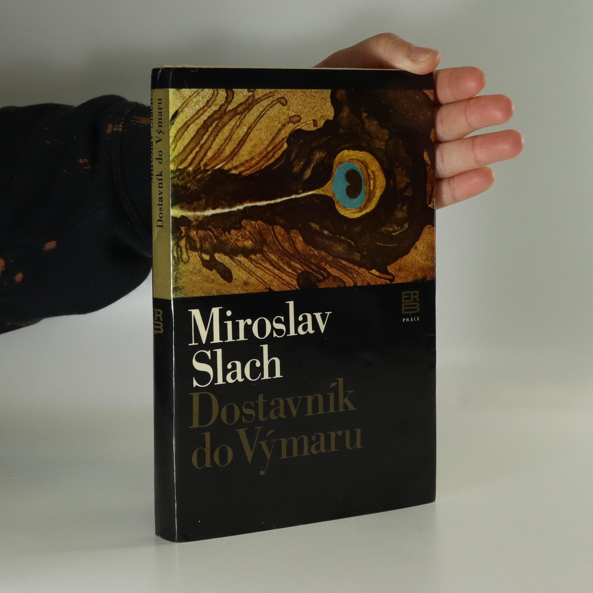antikvární kniha Dostavník do Výmaru, 1982