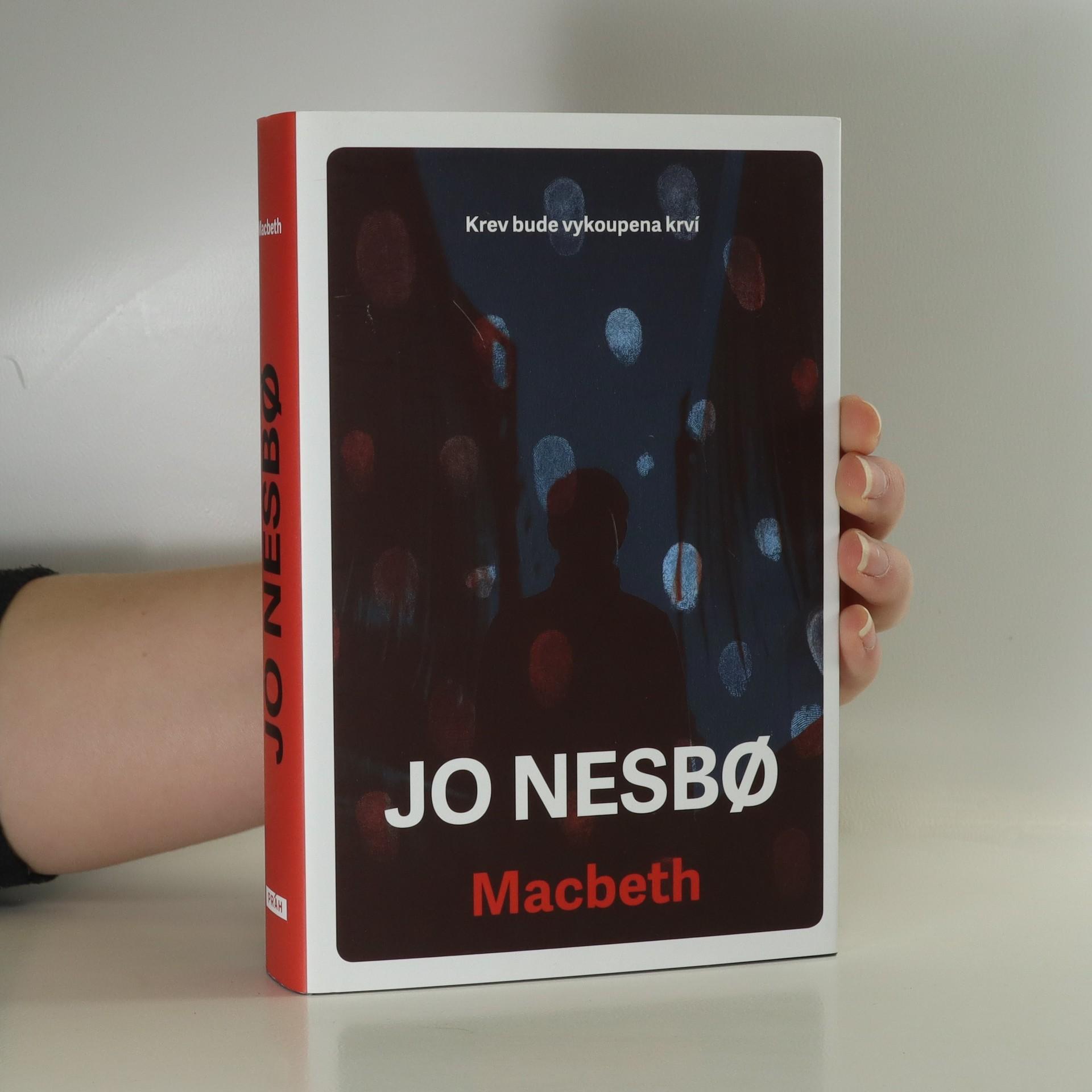 antikvární kniha Macbeth, 2018