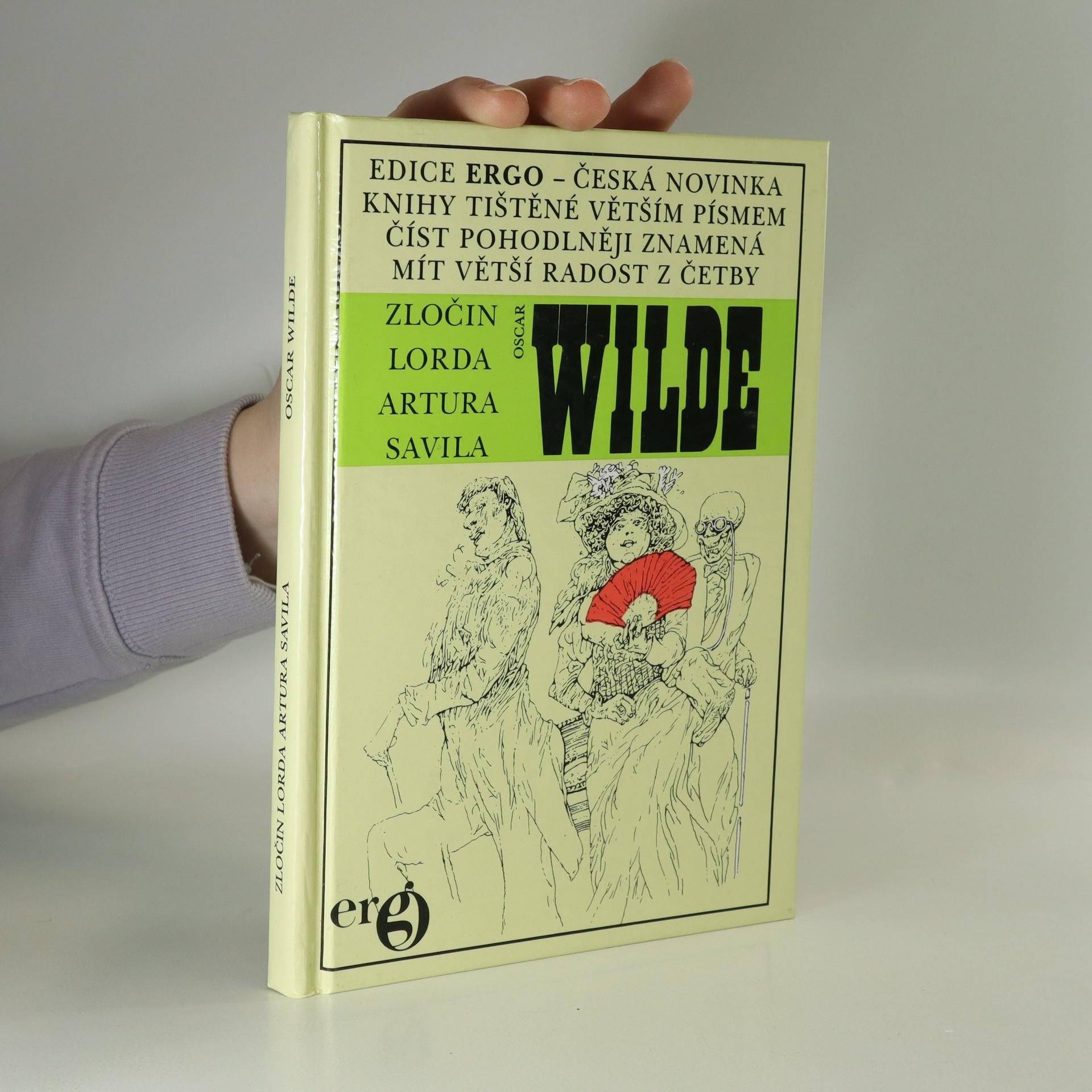 antikvární kniha Zločin lorda Artura Savila, 1992