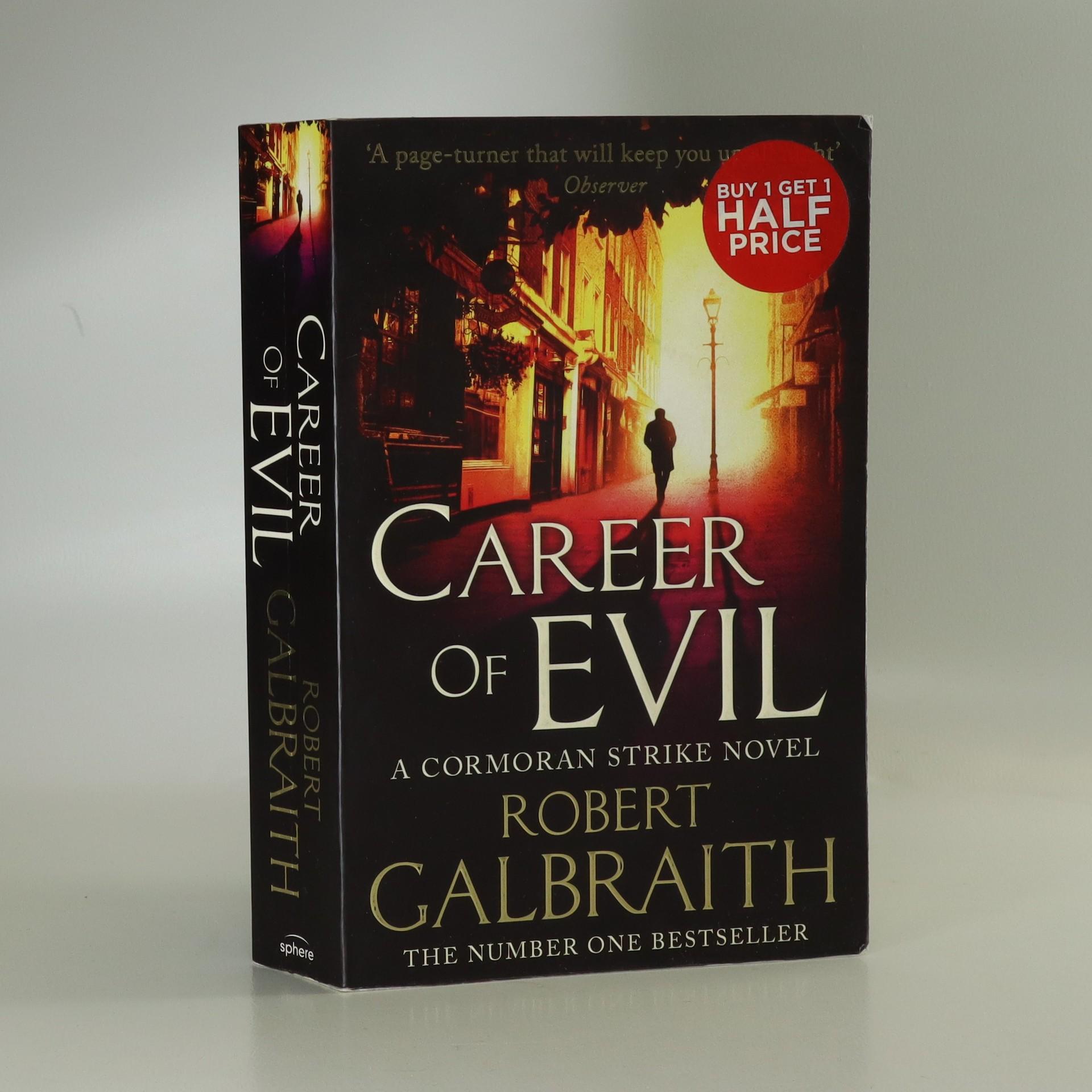antikvární kniha Career of evil, 2016