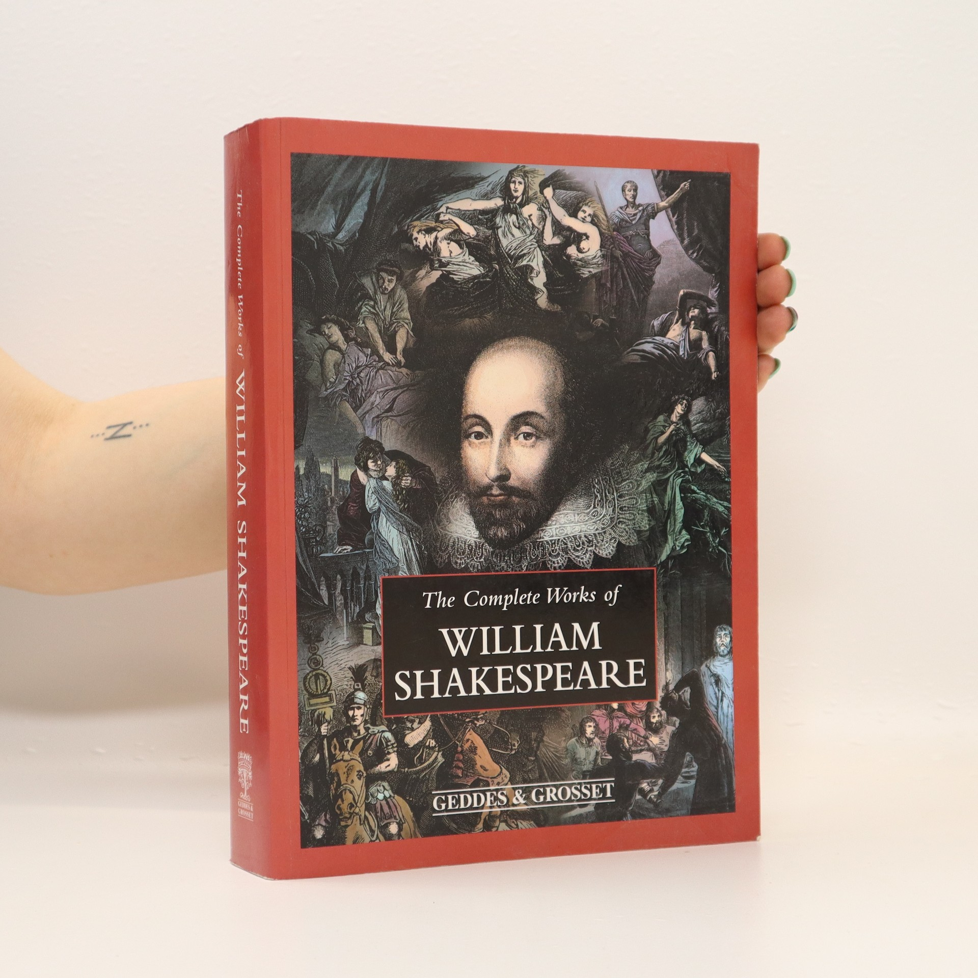 antikvární kniha The complete works of William Shakespeare, 2006