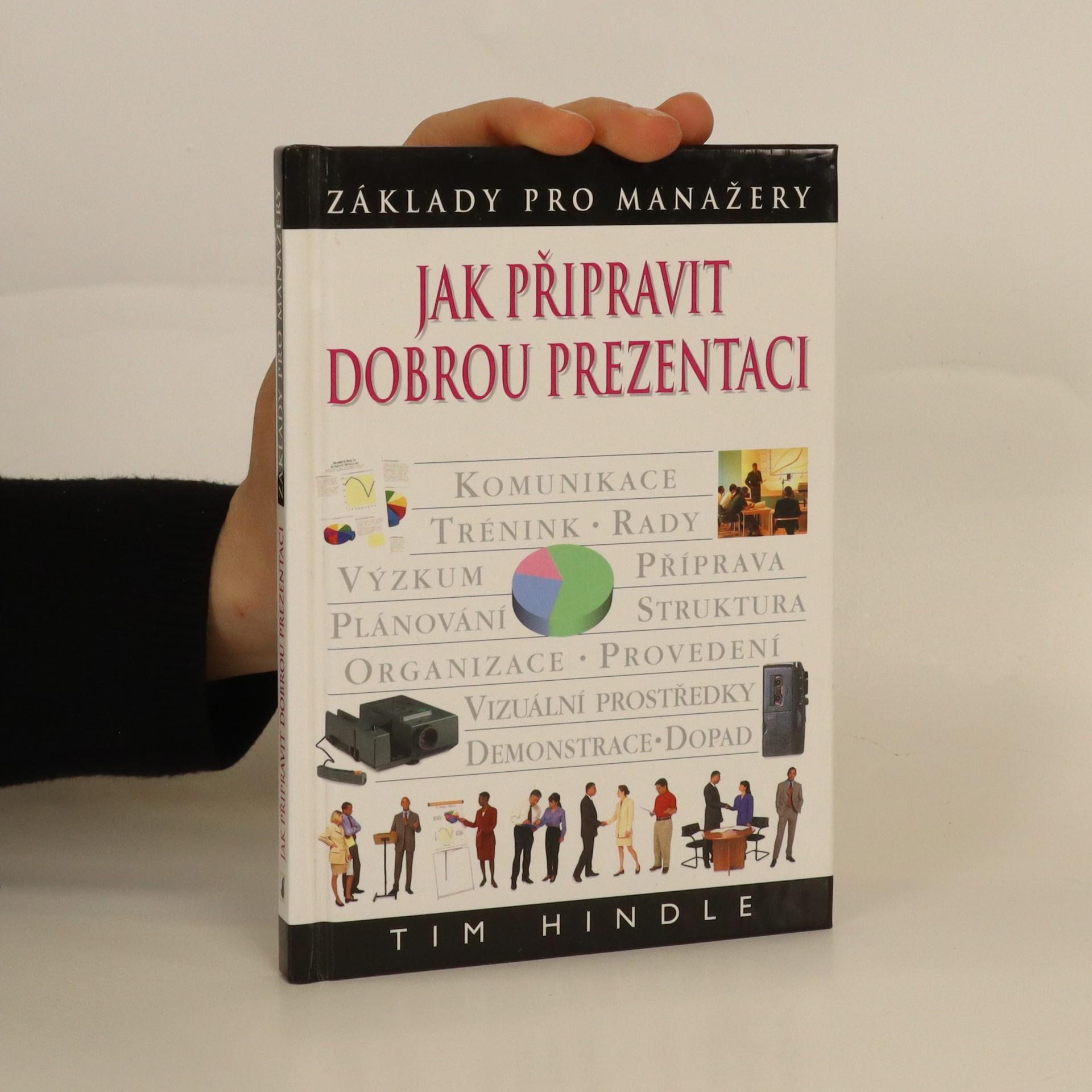 antikvární kniha Jak připravit dobrou prezentaci, 2001