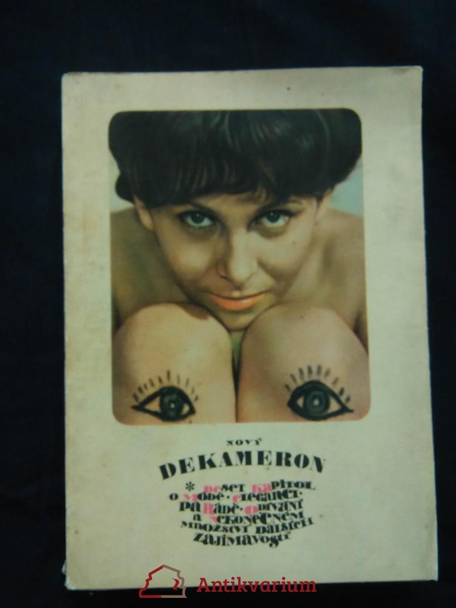 Nový dekameron - deset kapitol o módě, odívání ad. - LVT 1966 (Obr., nestr., il. V. Kabát, foto M. Hucek)