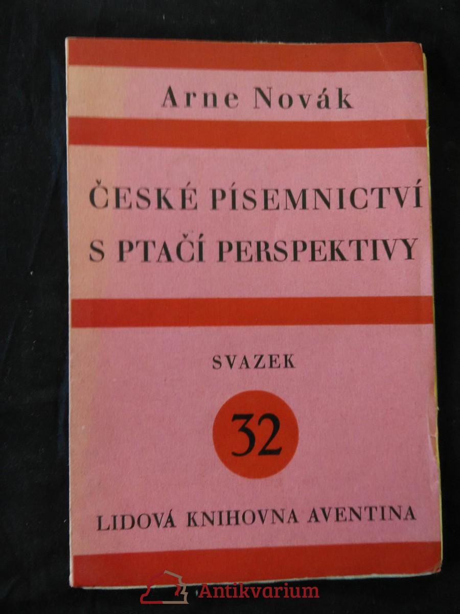 České písemnictví s ptačí perspektivy (Obr, 72 s.)