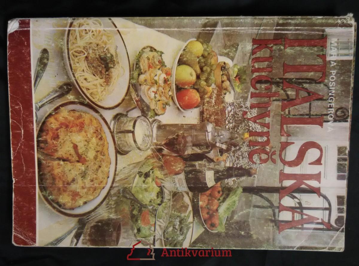 Italská kuchyně (obr, 196 s., il a foto)