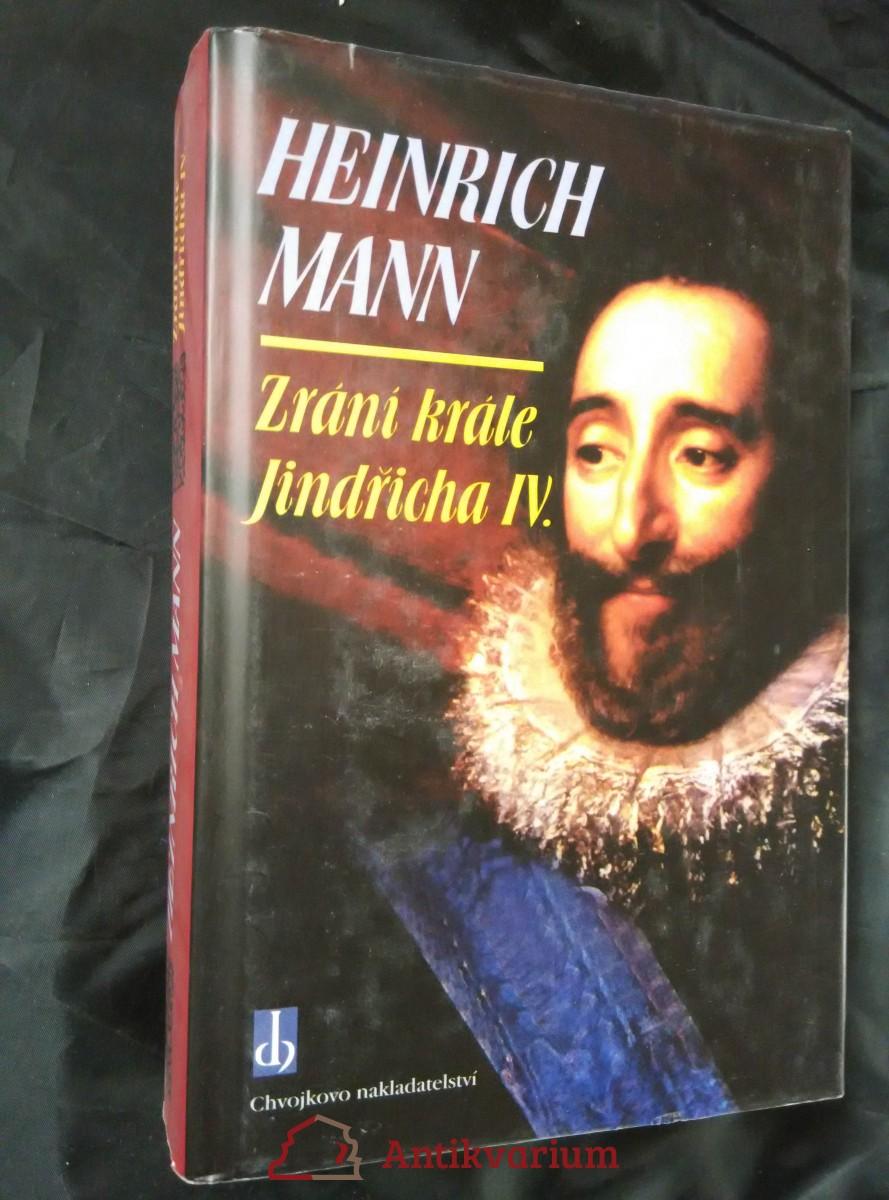 Zrání krále Jindřicha IV. (pv, 680 s.)