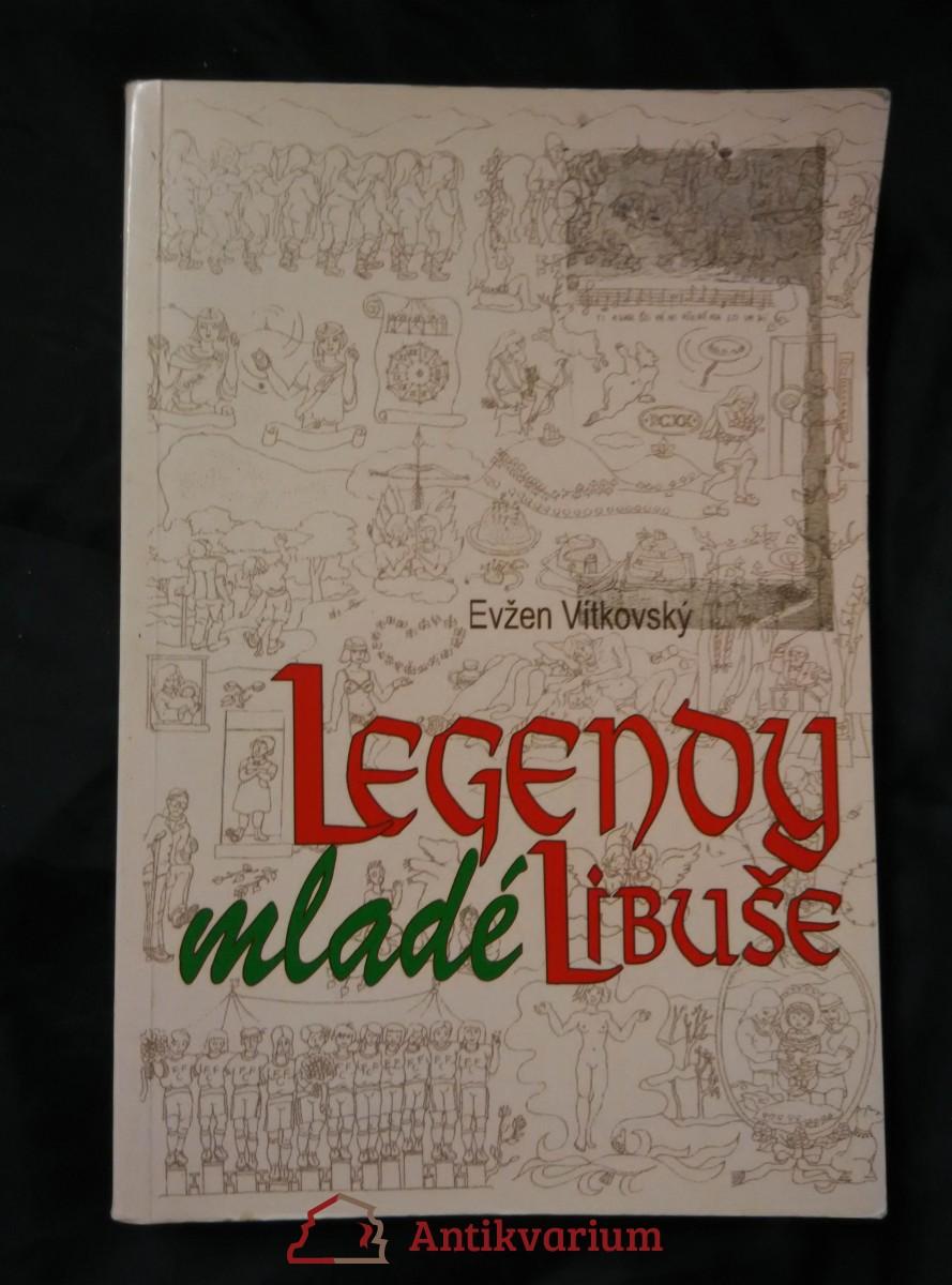 Legendy mladé Libuše (Obr, 220 s., il. I. Čapková)