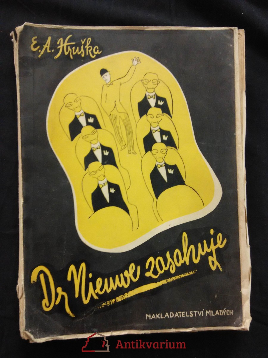 Dr. Nieuwe zasahuje (Obr, 199 s., il. F. Kratochvíl)