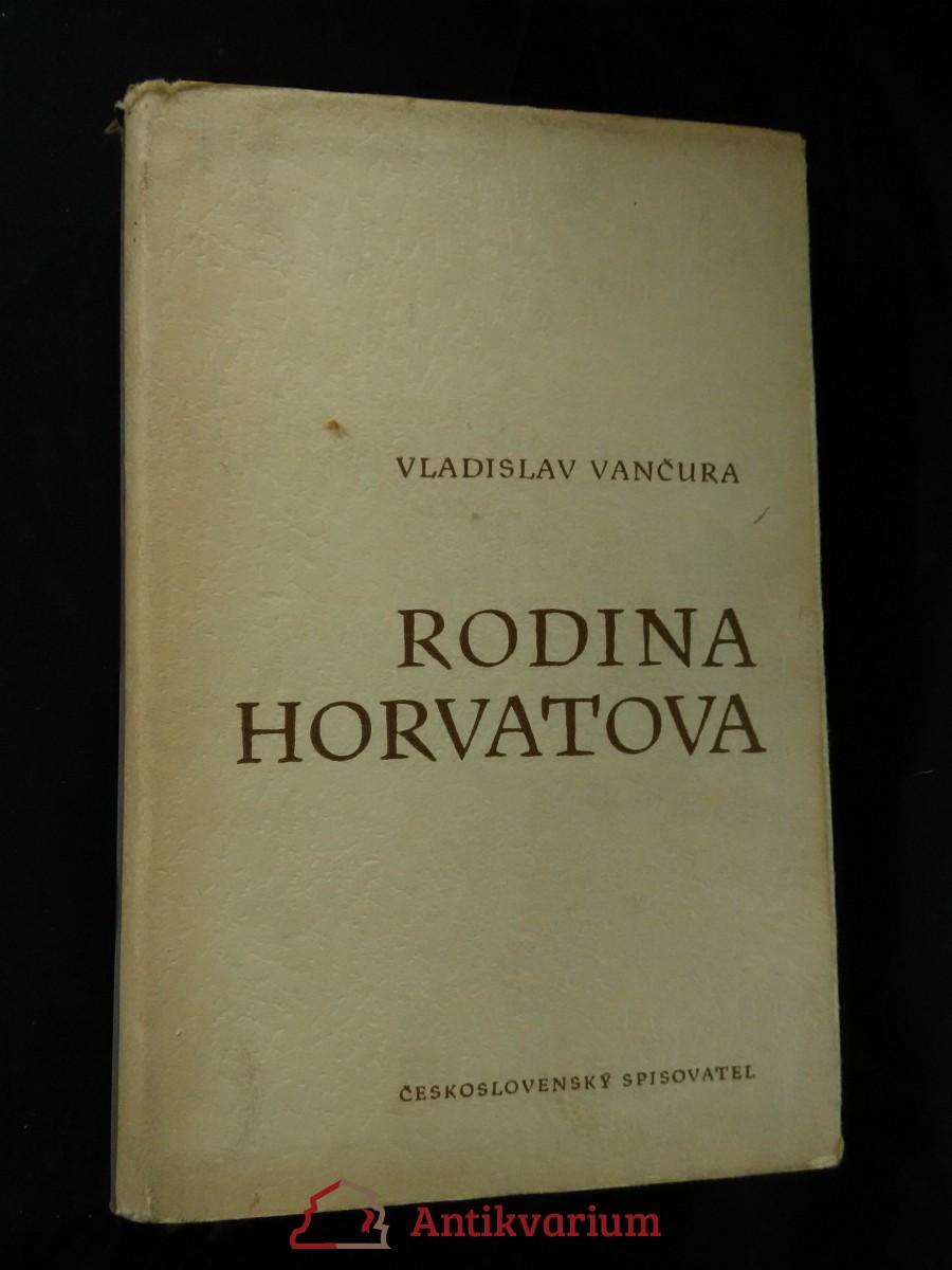 Rodina Horvatova (Ocpl., 392 s.)