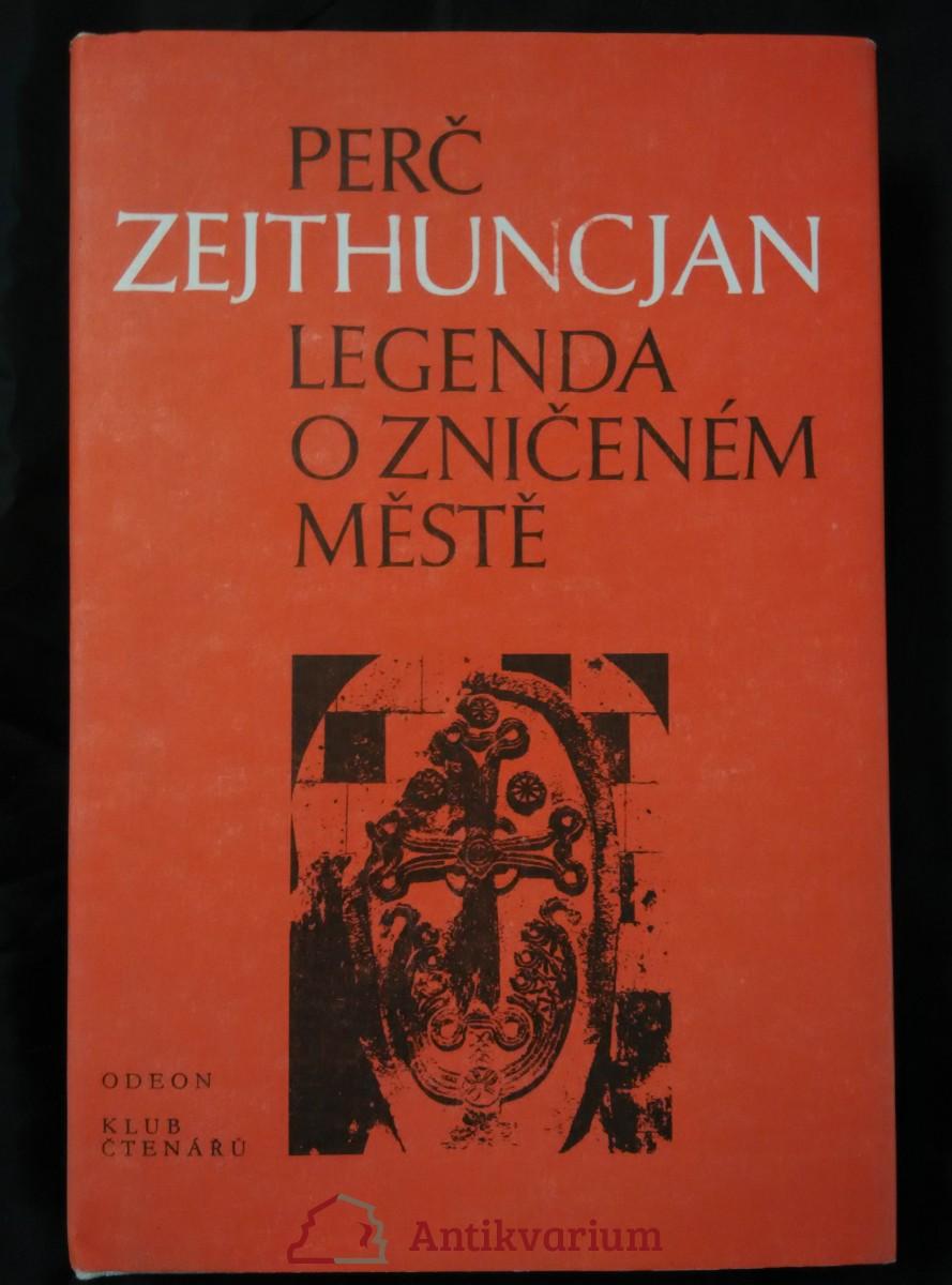 Legenda o zničeném městě (Ocpl, 400 s.)