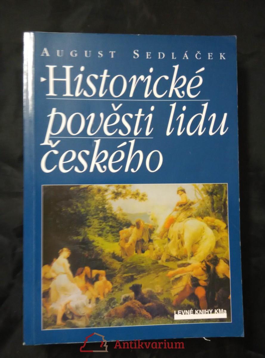 Historické pověsti lidu českého (Obr, 296 s.)