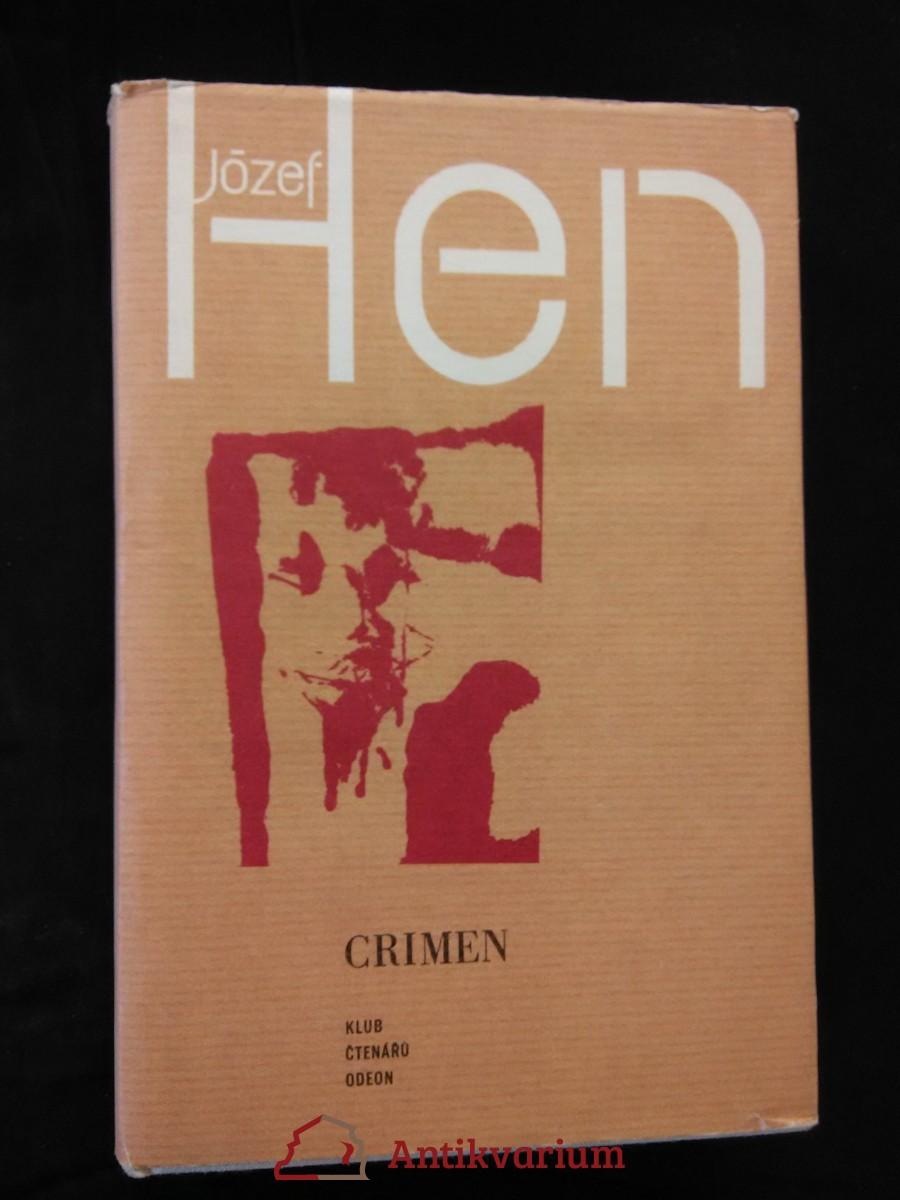 Crimen - Jarmareční historie (Ocpl, 494 s.)