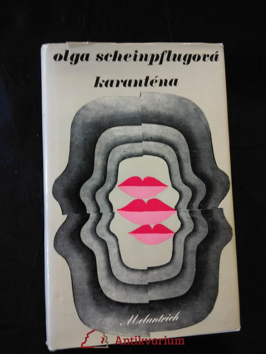 antikvární kniha Karanténa (il. K. Teissig), 1978