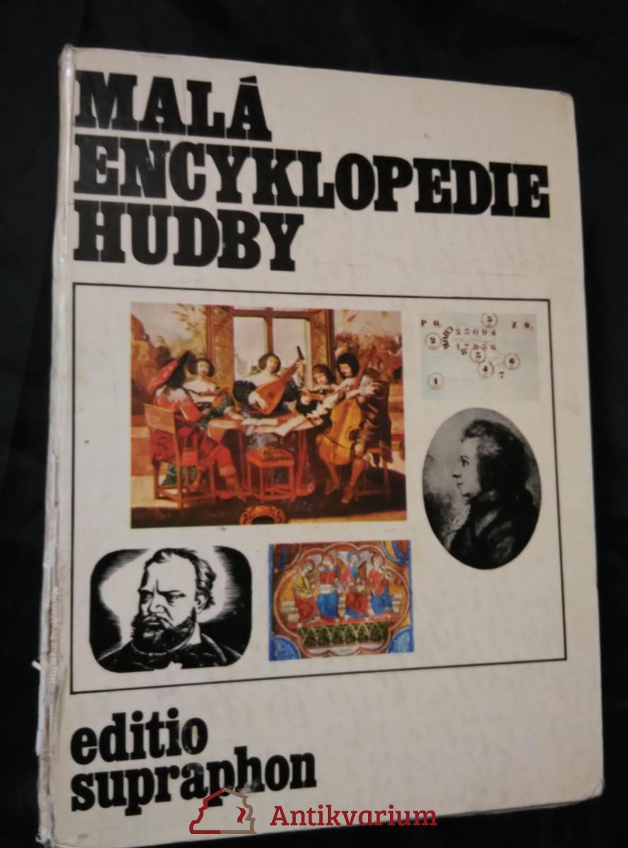 Malá encyklopedie hudby (A4, lam, 740 s., 48 s obr příl., raz.)