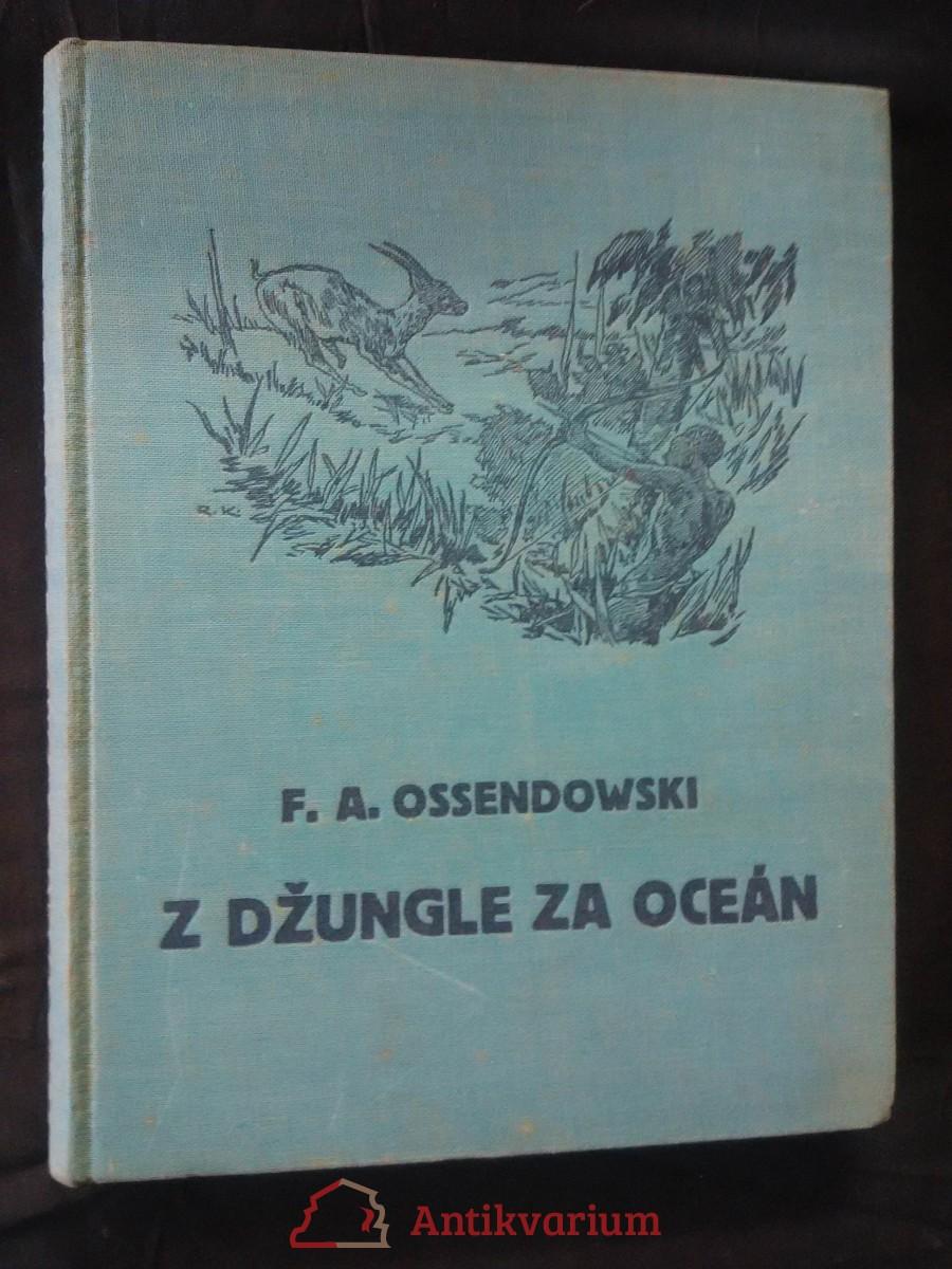 Z džungle za oceán (Ocpl, 144 s., il. R. Komínek)
