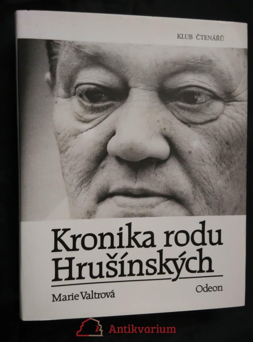 Kronika rodu Hrušínských (pv, 410 s.)