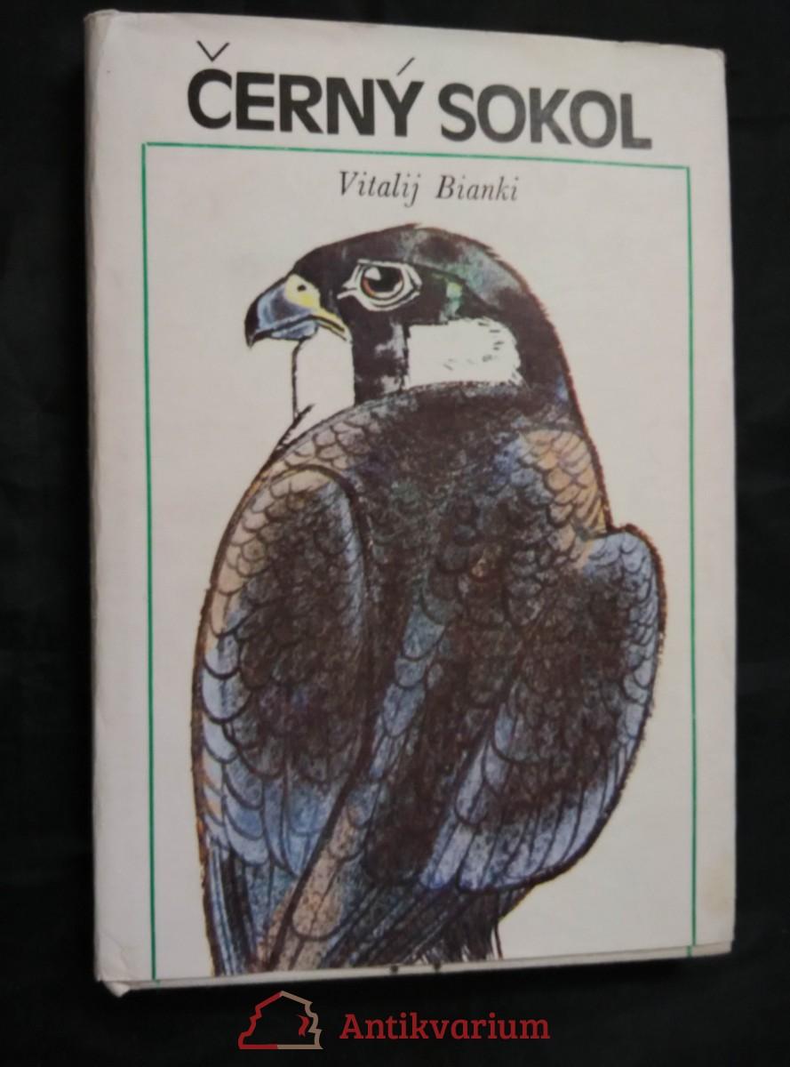 Černý sokol (Ocpl., 208 s., il. D. Černá)