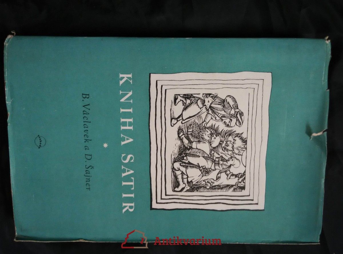 Kniha satir (Obr, 339 s.)