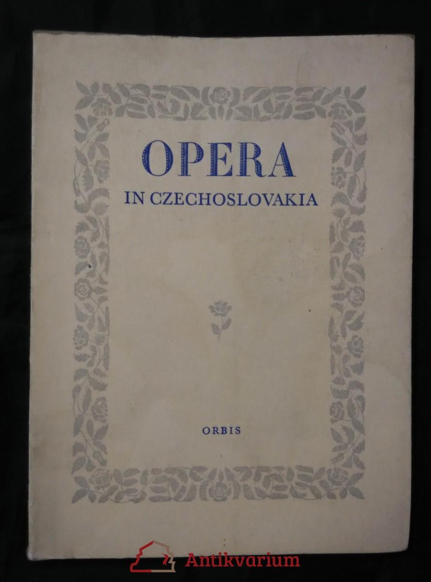 Opera in Czechoslovakia