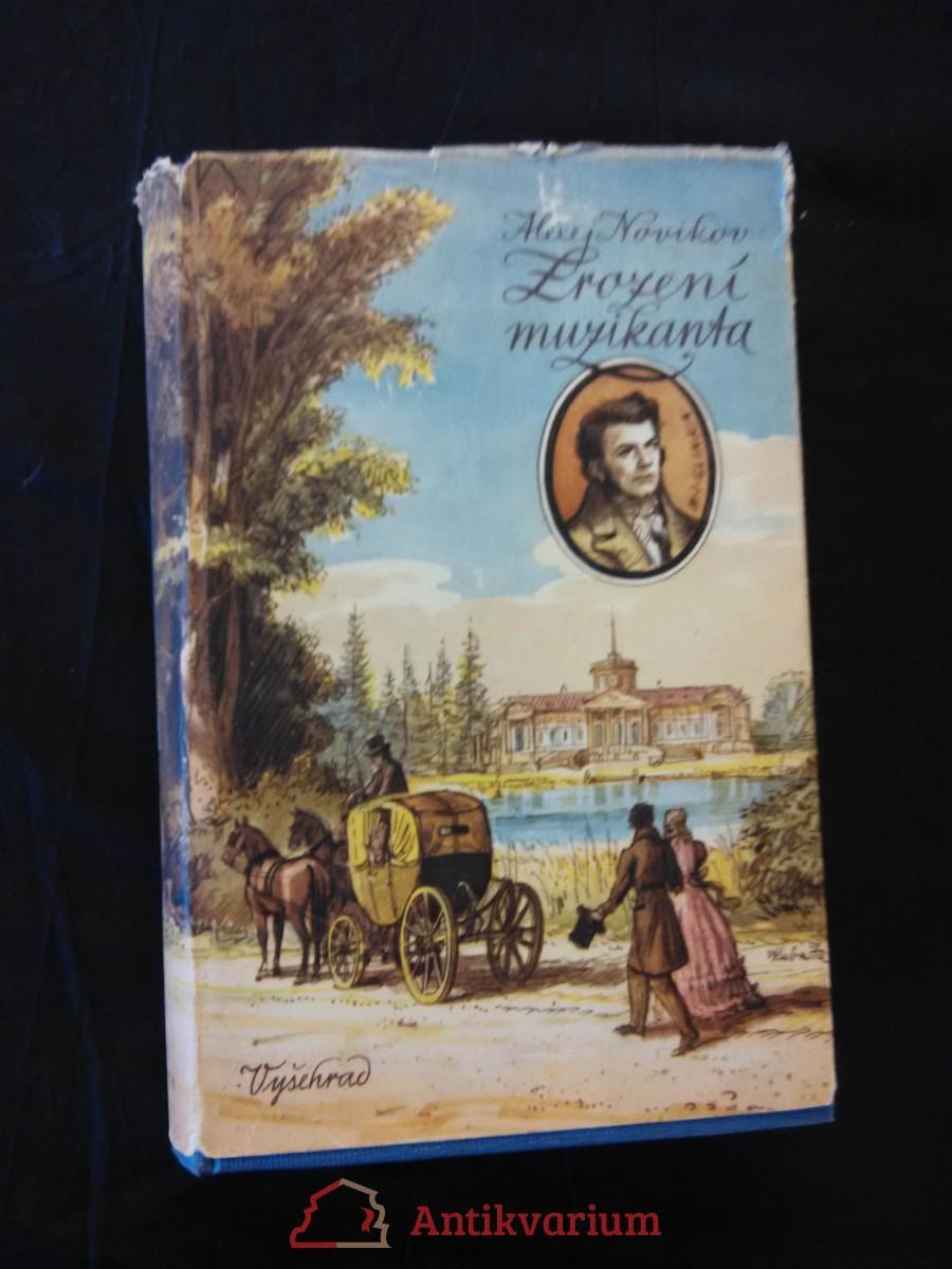 antikvární kniha Zrození muzikanta (M. I. Glinka), 1953