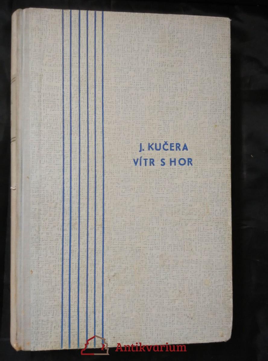 antikvární kniha Vítr s hor (il. J. Podhajský), 1944
