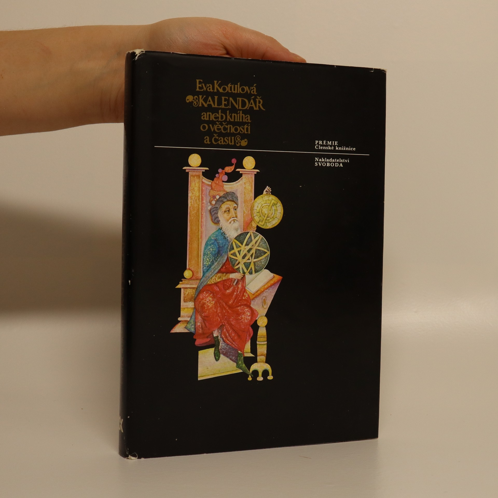 antikvární kniha Kalendář, aneb, Kniha o věčnosti a času, 1978