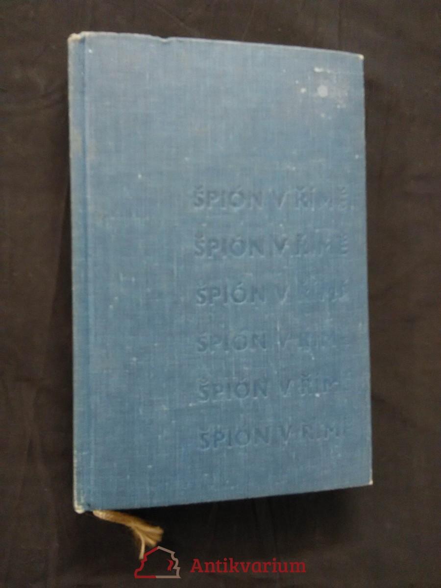 Špión  v Římě (Ocpl, 300 s.)