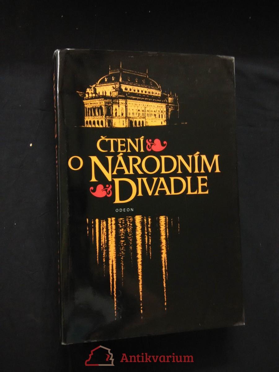 Čtení o Národním divadle  - útržky dějin a osudů (A4, Ocpl, 416 s.)