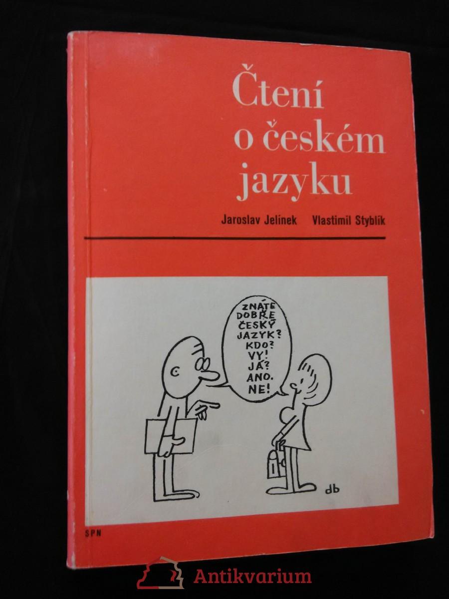 Čtení o českém jazyku (Obr, 302 s., il. M. Nesvadba)