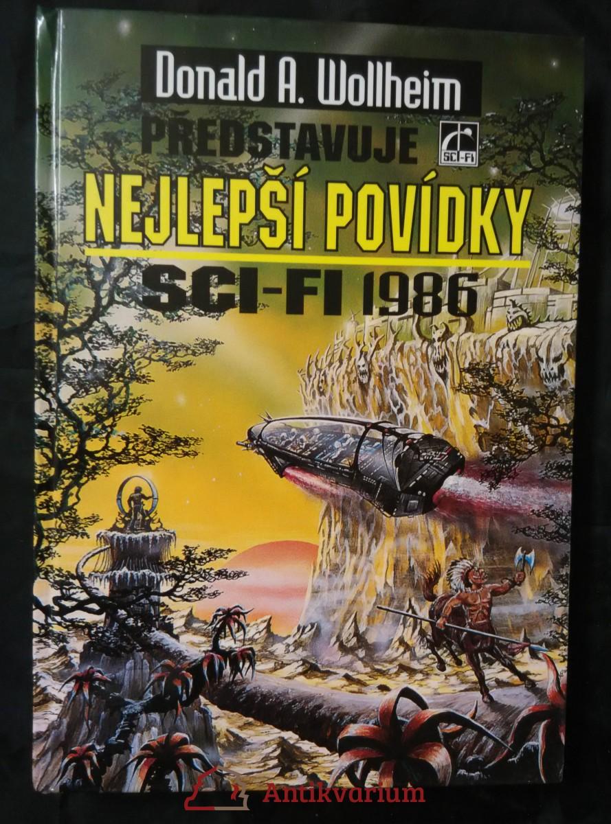 Nejlepší povídky sci-fi 1986 (lam., 304 s.)
