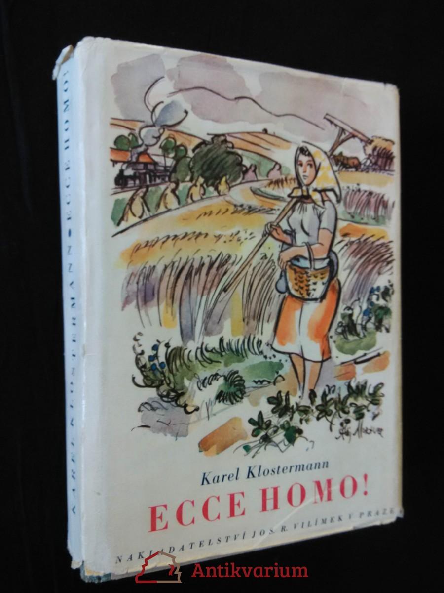 Ecce homo (Oppl, 488 s., ob.  A. Moravec)