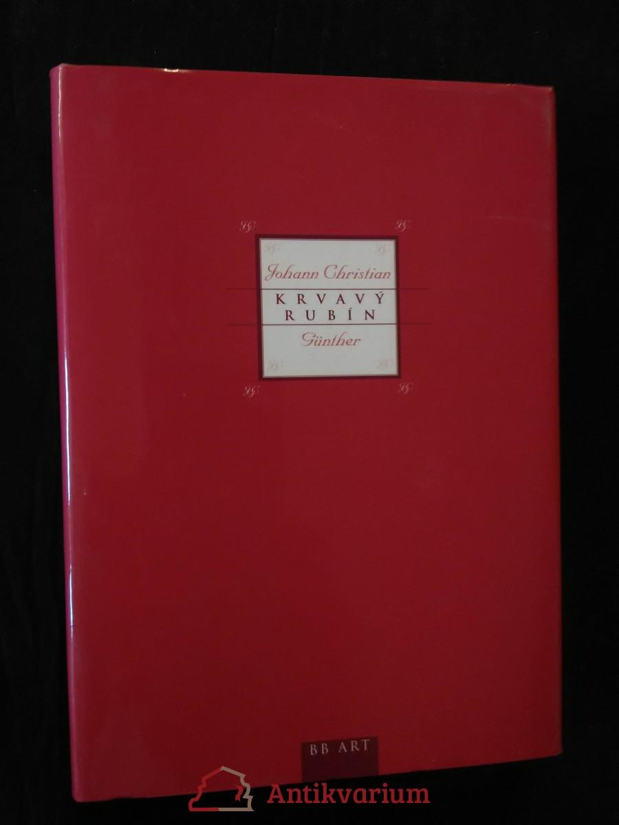 Krvavý rubín (pv, 114 s., přel. J. Hiršal)